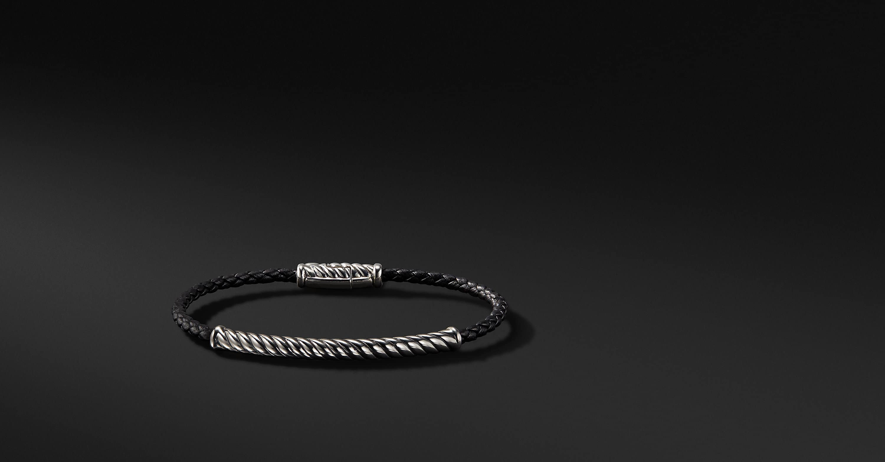 Cable Classic Collection Leather Bracelet