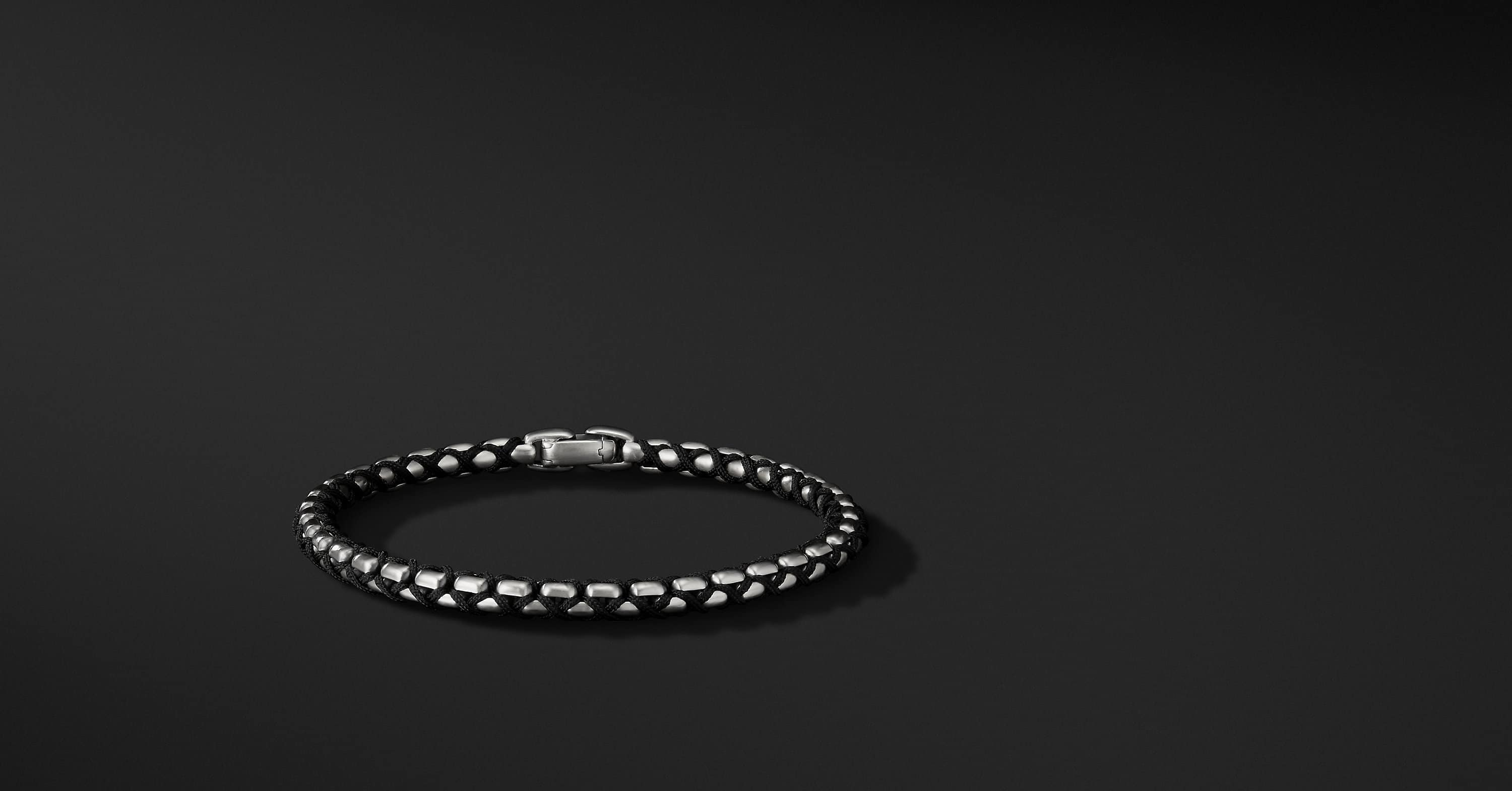 Woven Box Chain Bracelet, 4.8mm