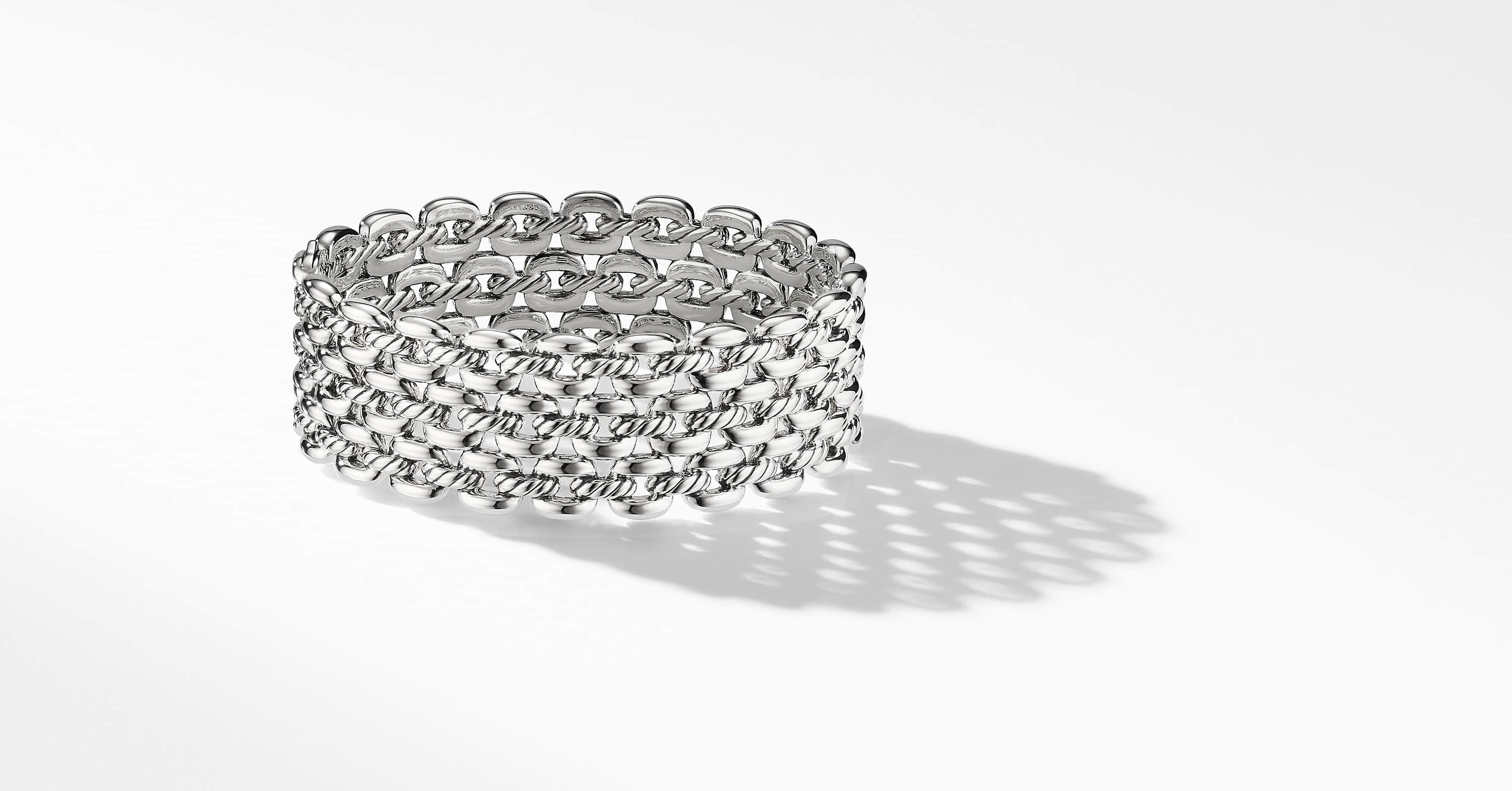 Thoroughbred Three-Row Cuff Bracelet