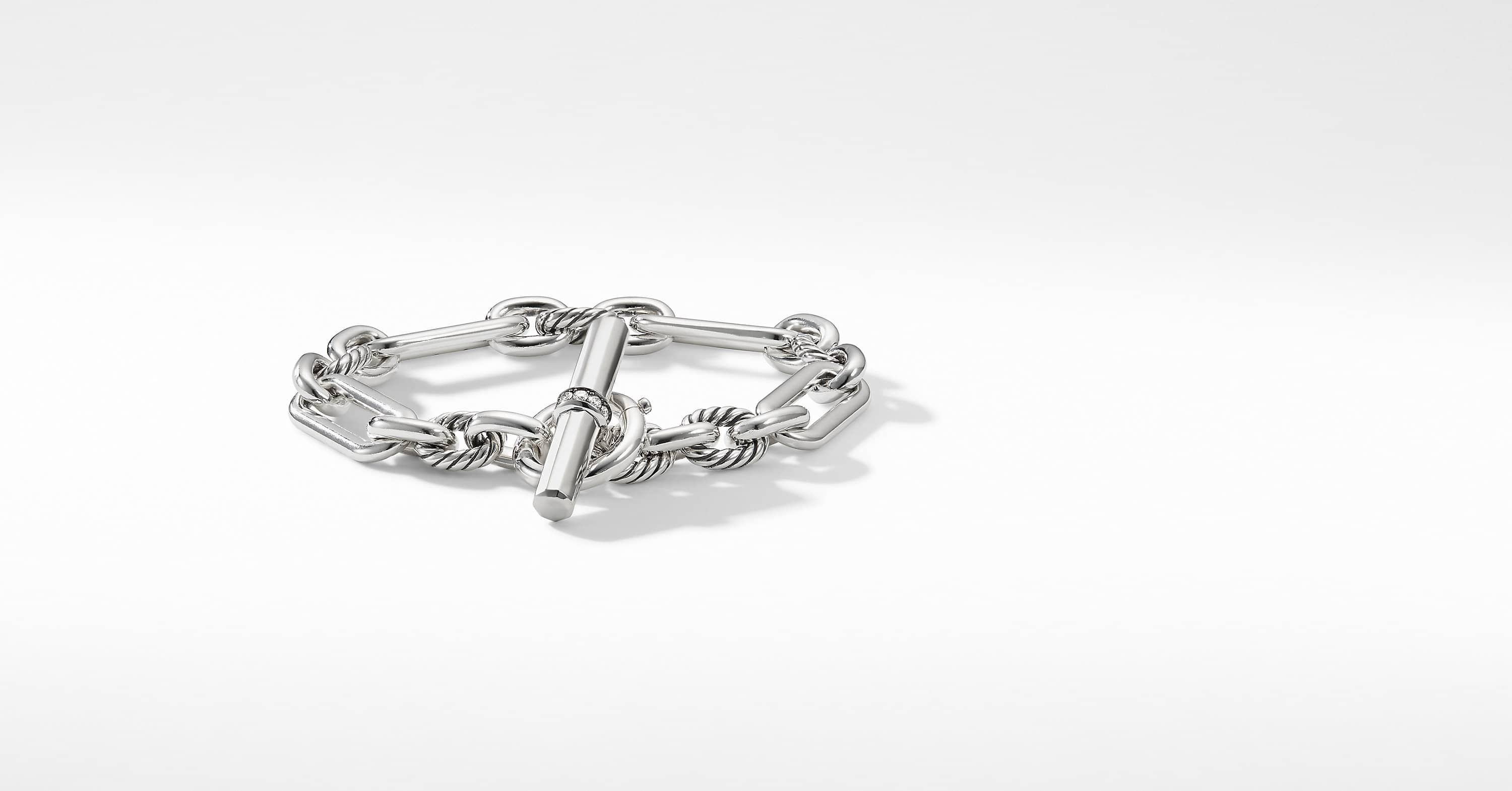 Lexington Chain Bracelet with Diamonds