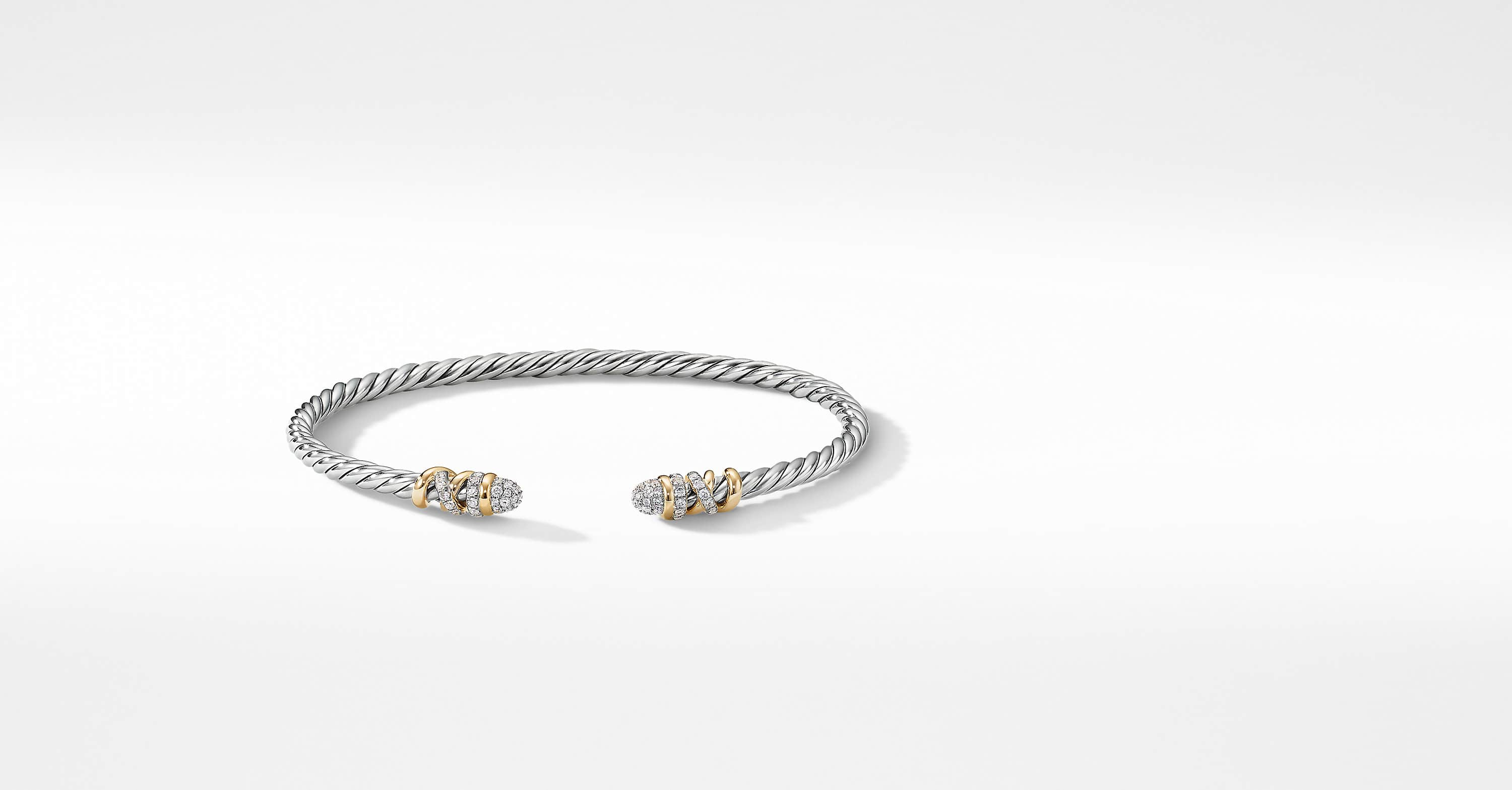 Petite Helena Bracelet with Diamonds and 18K Yellow Gold