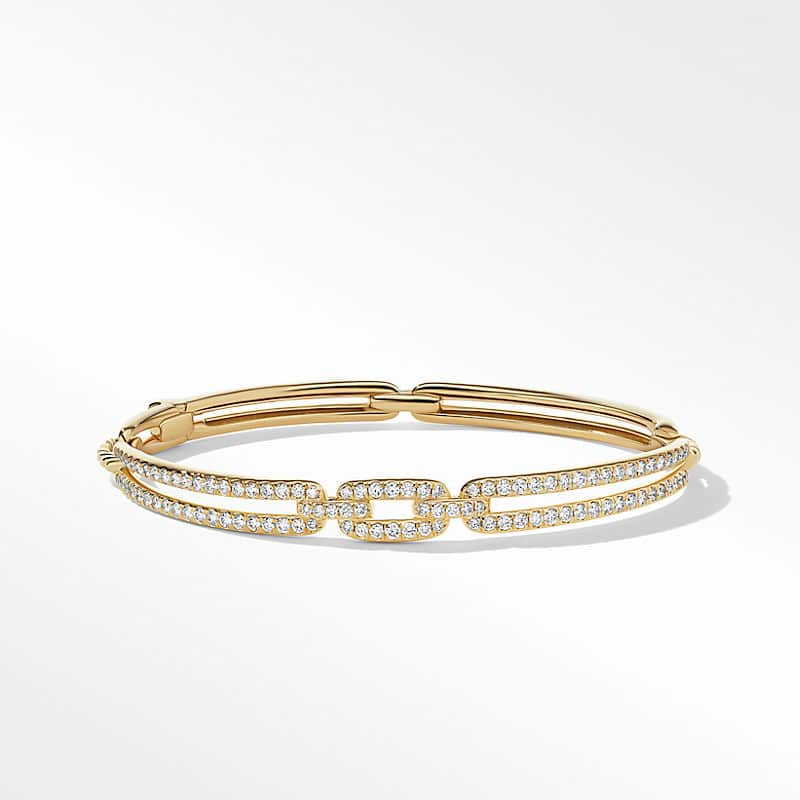 Stax Linked Bracelet in 18K Yellow Gold with