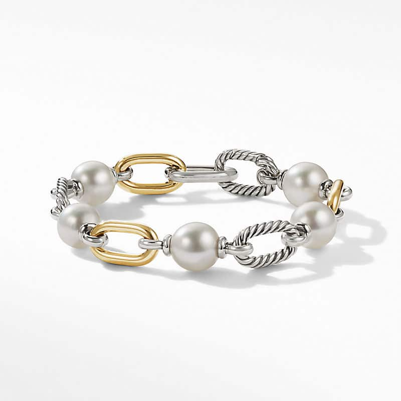 DY Madison® Pearl Chain Bracelet with 18K Yellow