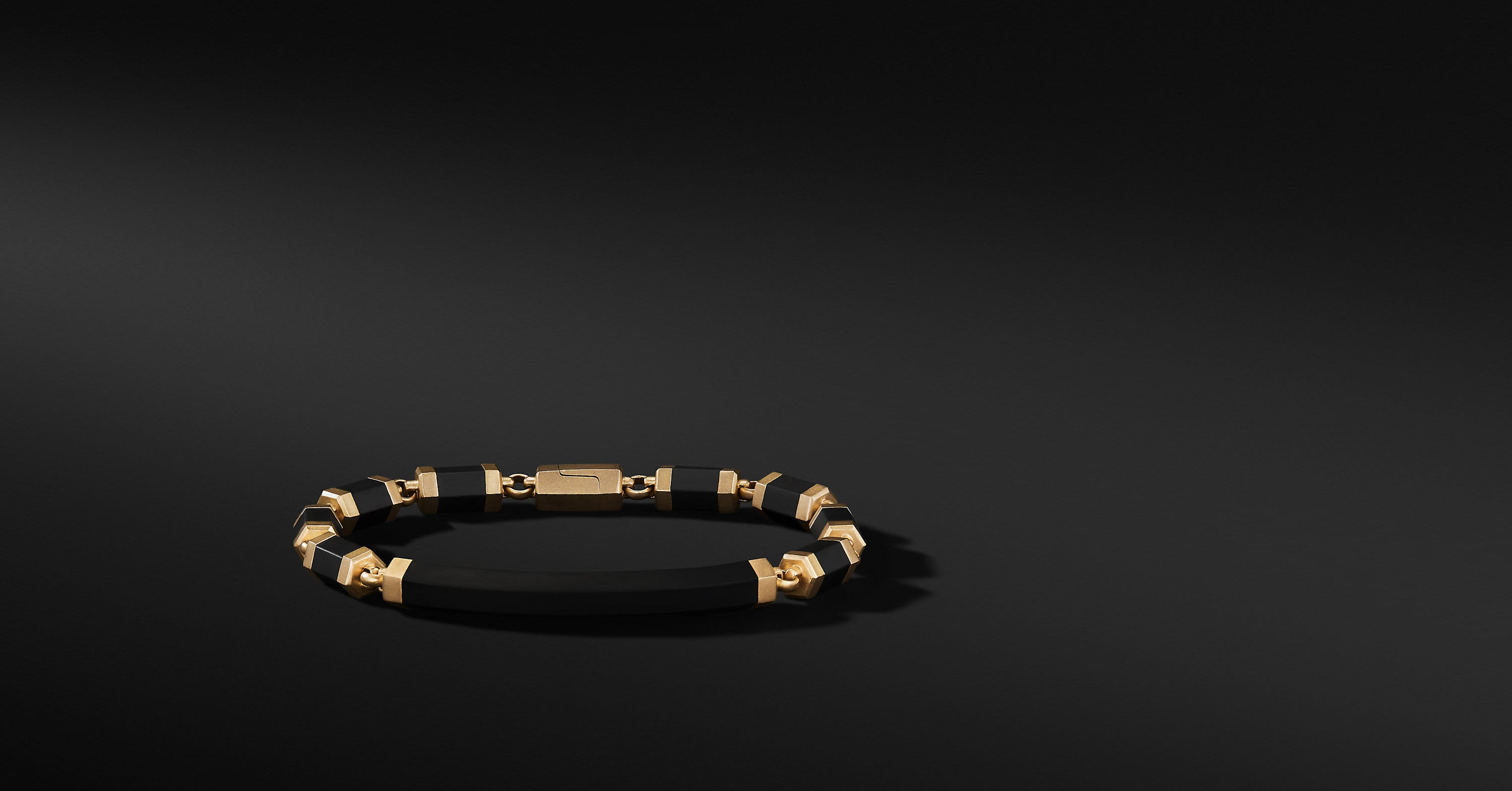 Hex ID Bracelet with 18K Gold