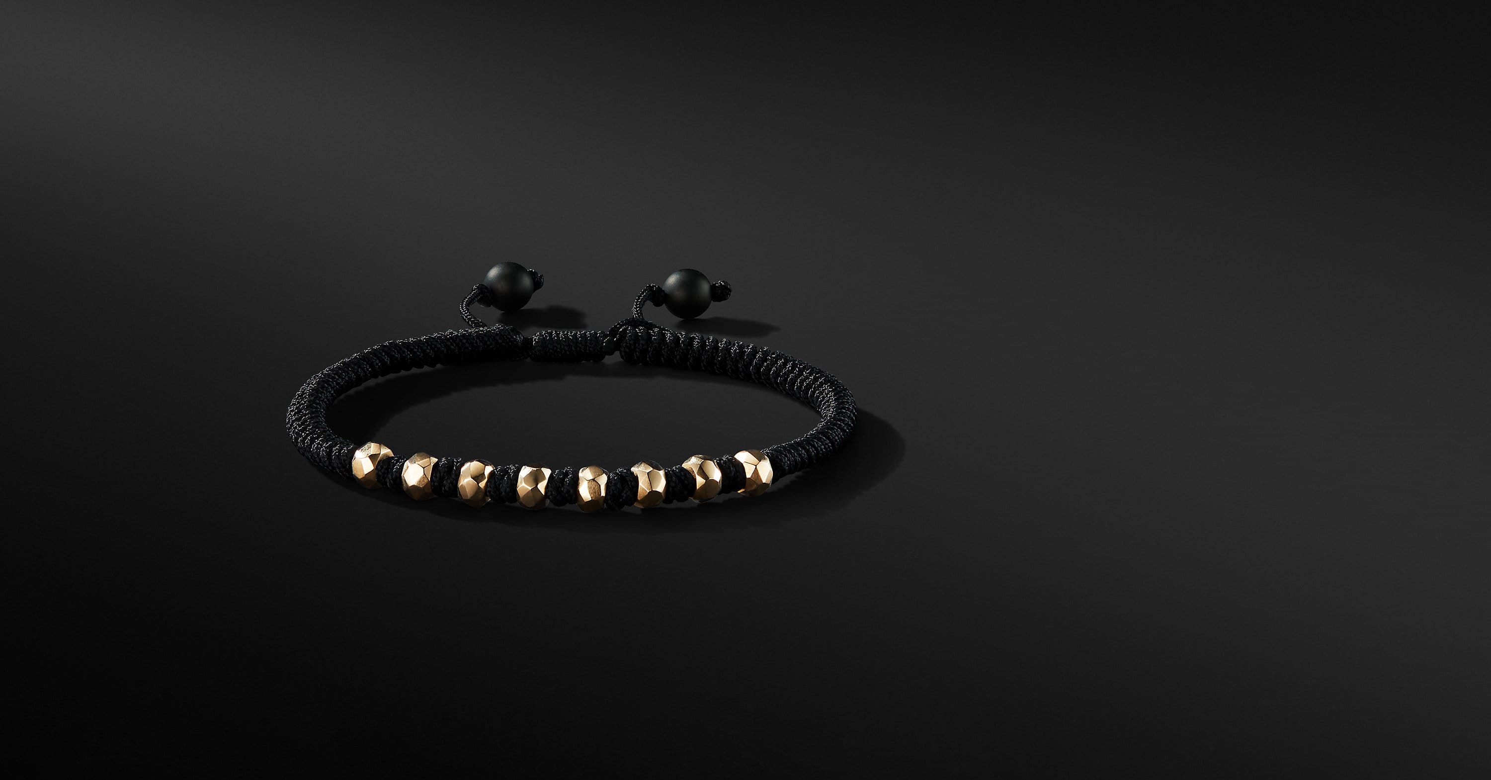 DY Fortune Woven Bracelet in 18K Gold