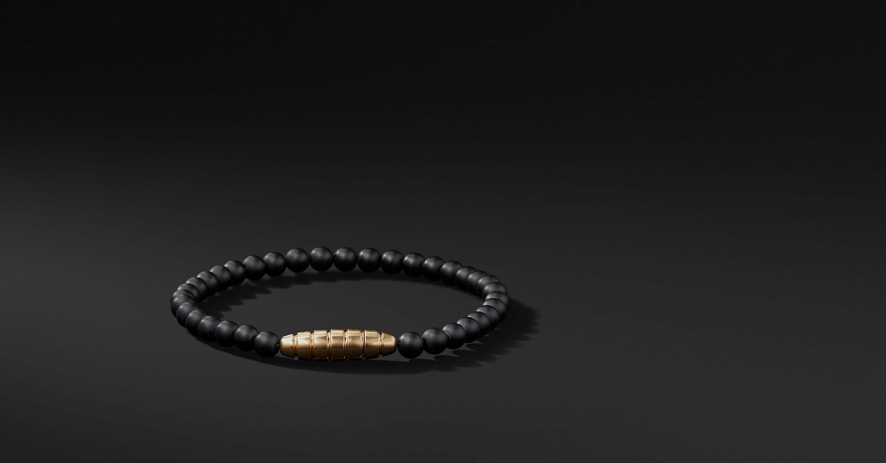 Southwest Bead Bracelet with 18K Gold
