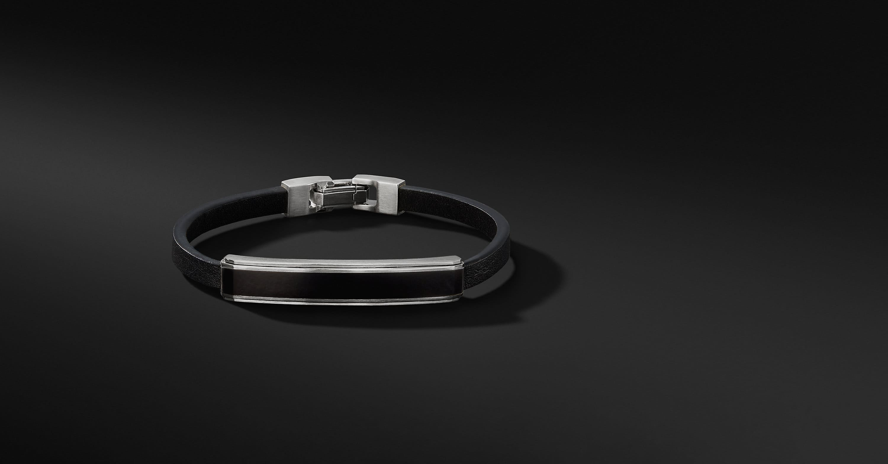Deco Bar Station Leather Bracelet