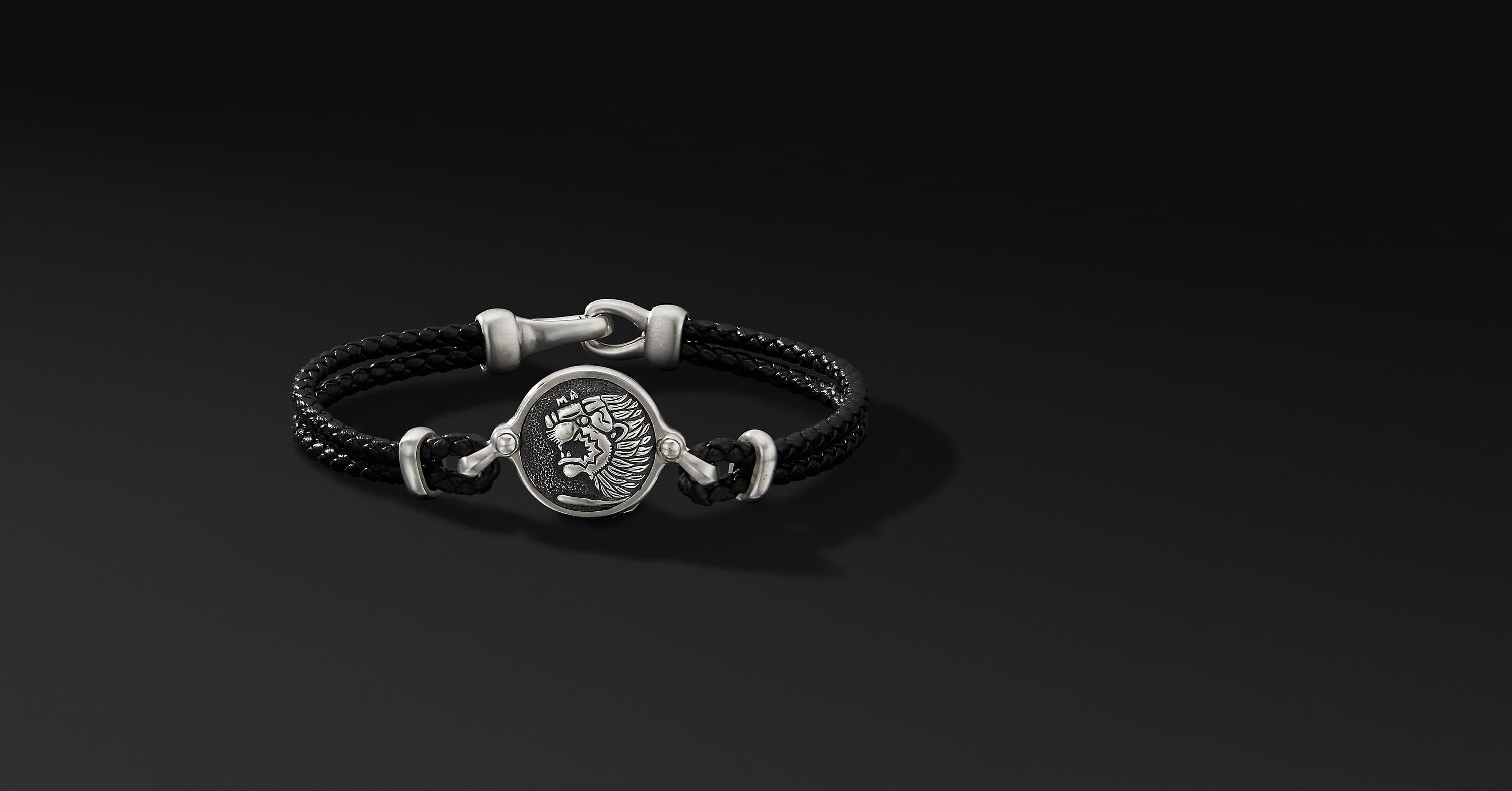 Petrvs Lion Leather Bracelet