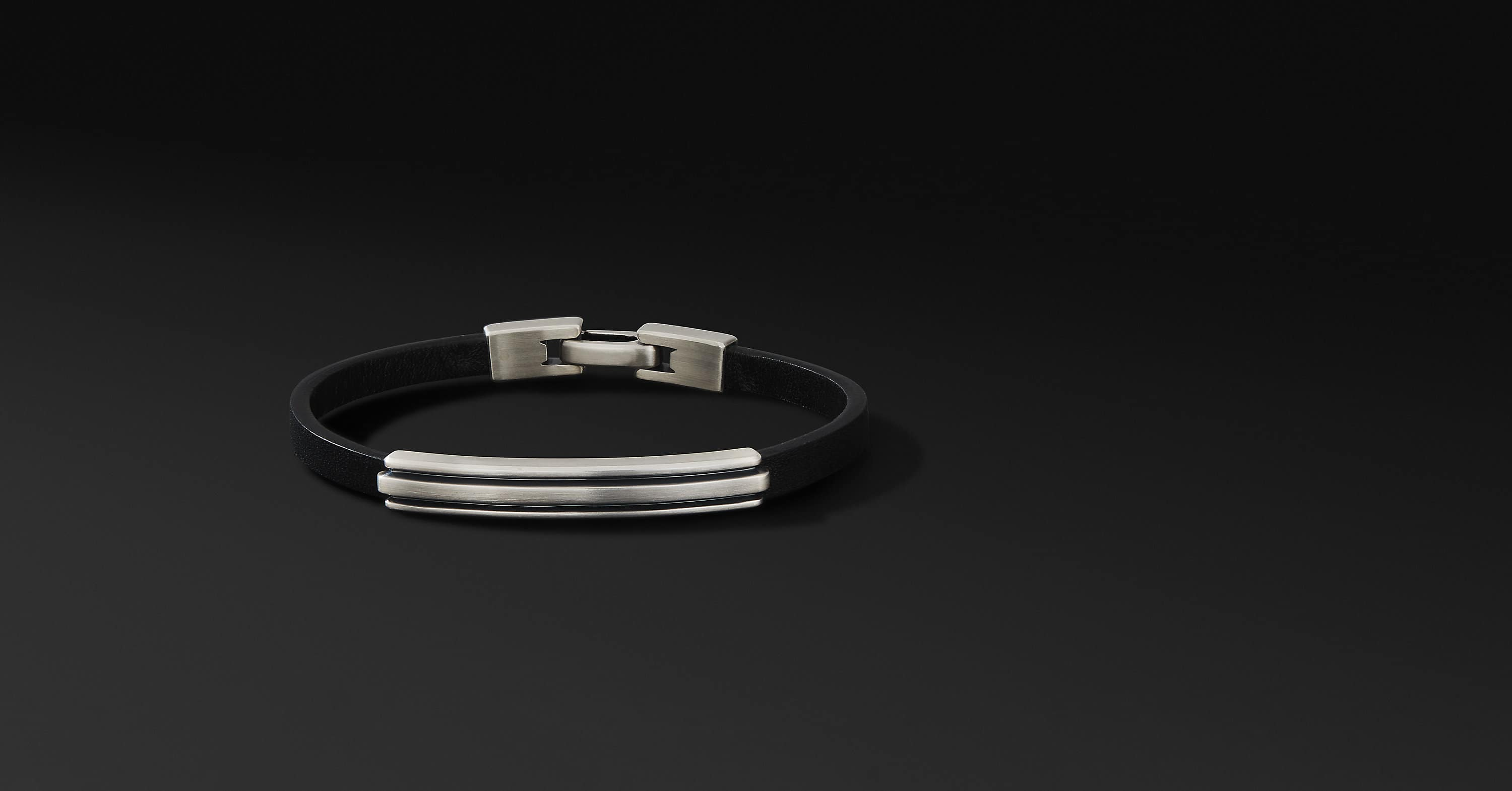 Deco Leather ID Bracelet