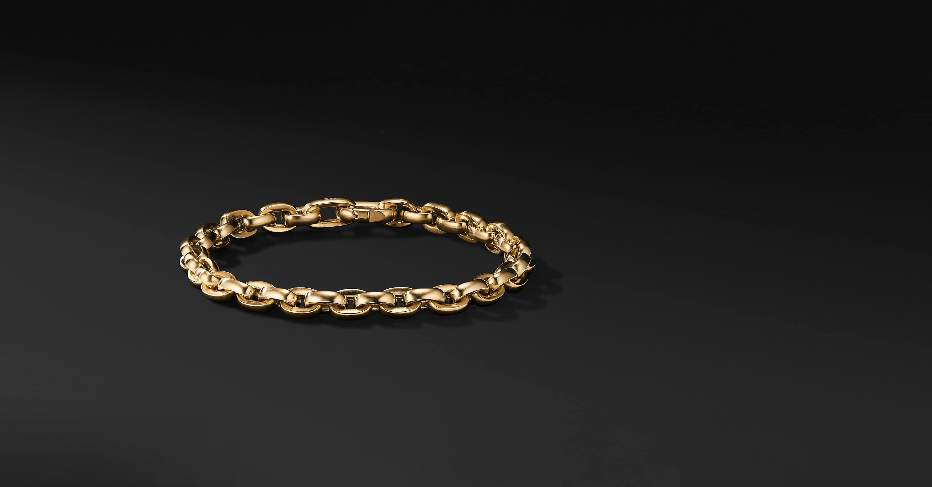 Streamline Chain Bracelet in 18K Yellow Gold