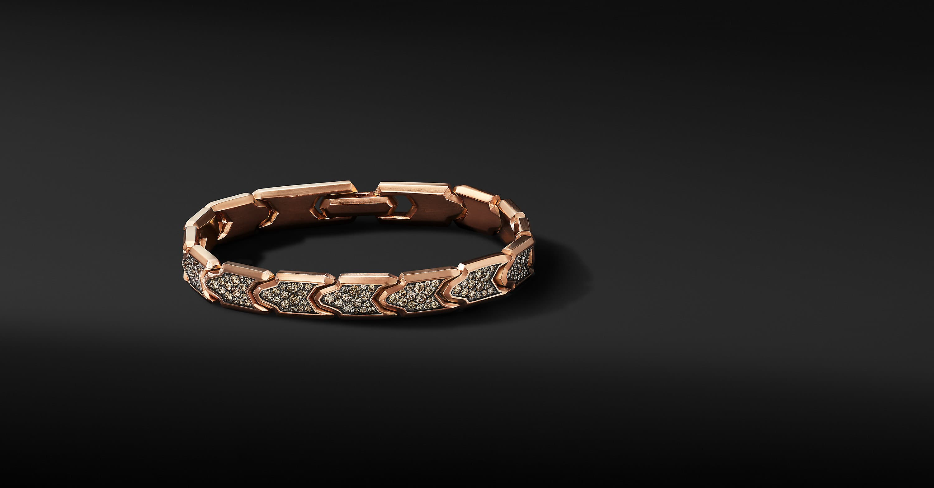 Link Bracelet in 18K Rose Gold