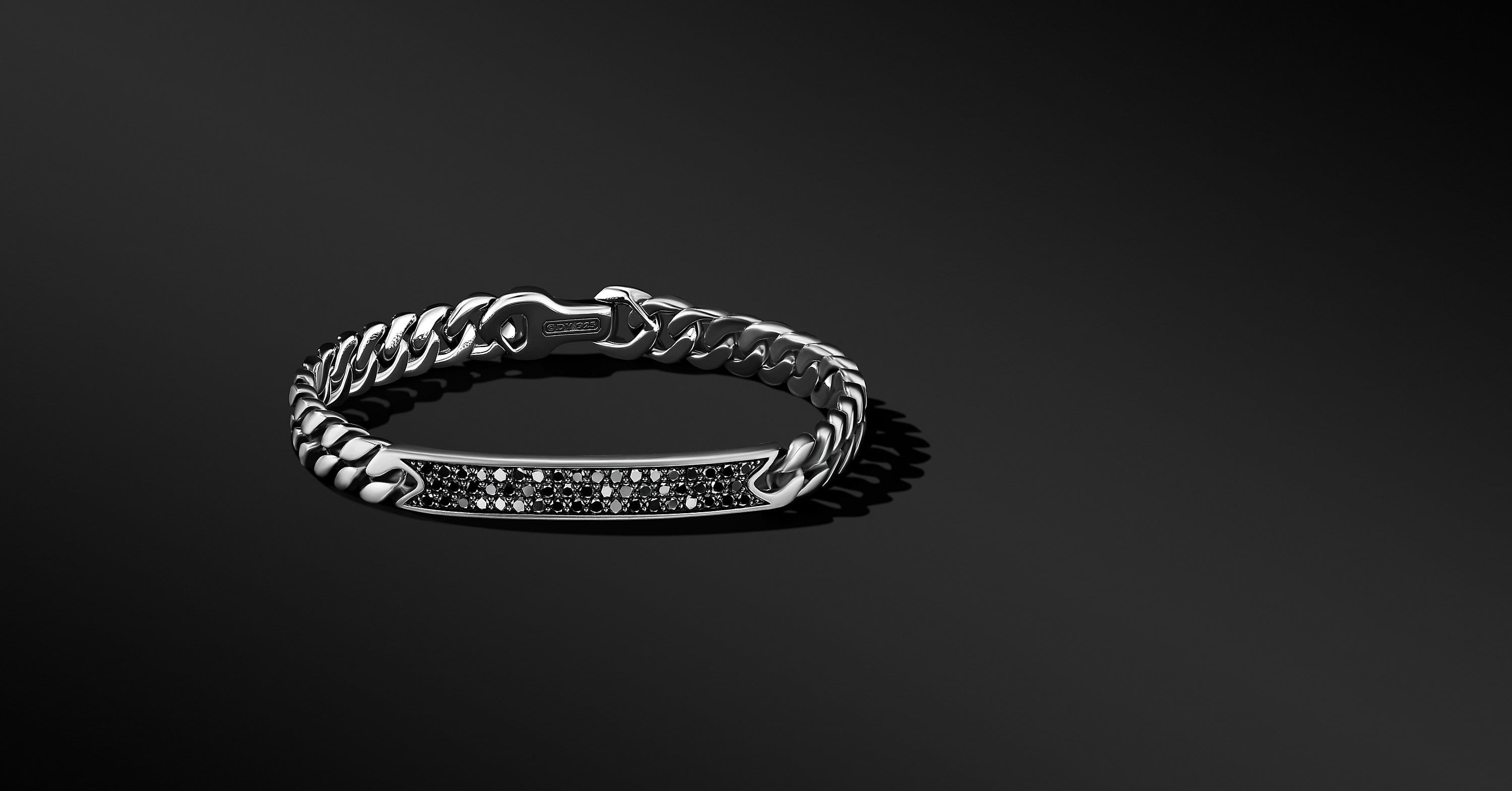 Micro Curb Chain ID Bracelet, 8mm