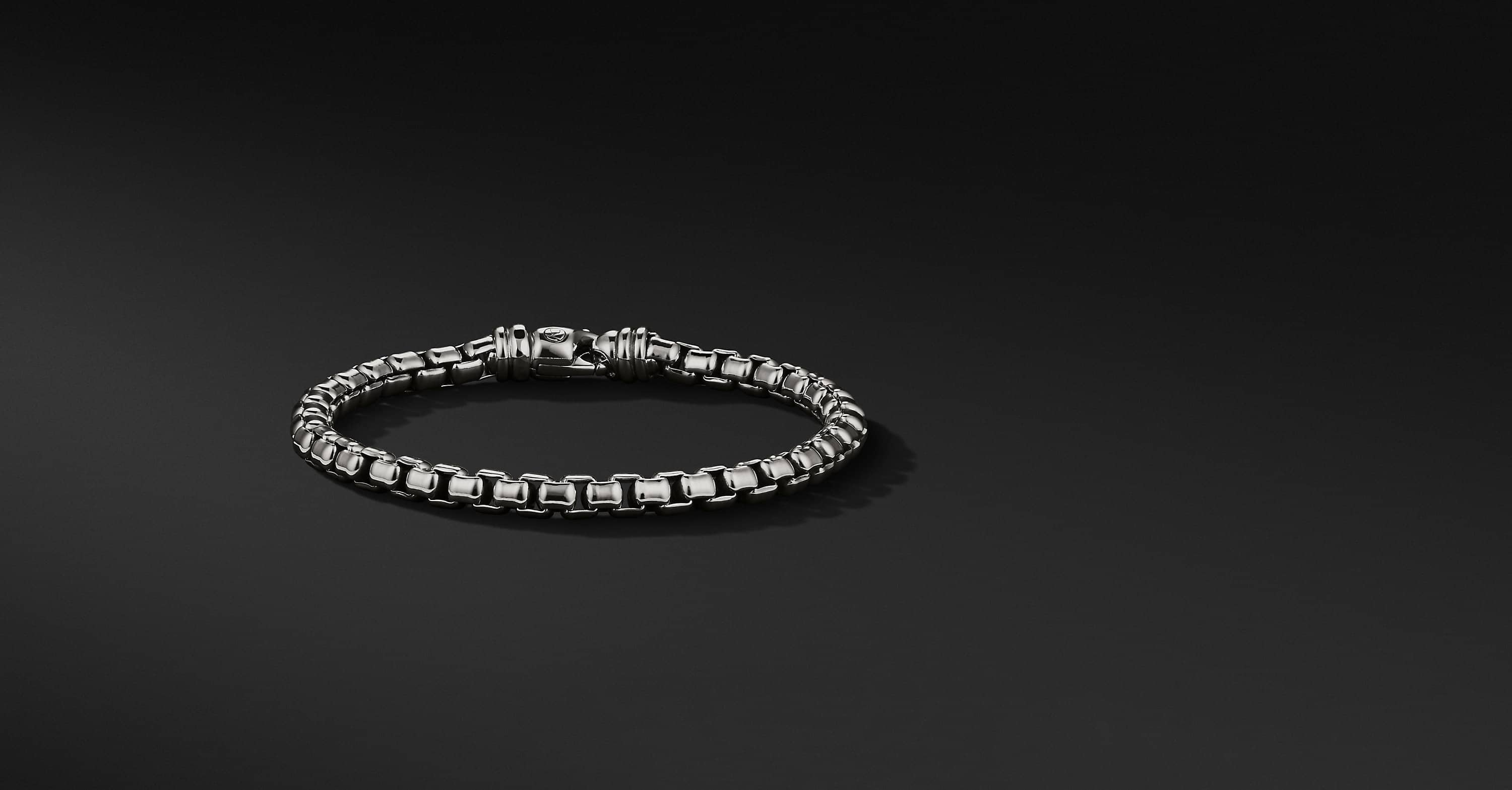 Large Box Chain Bracelet, 5mm