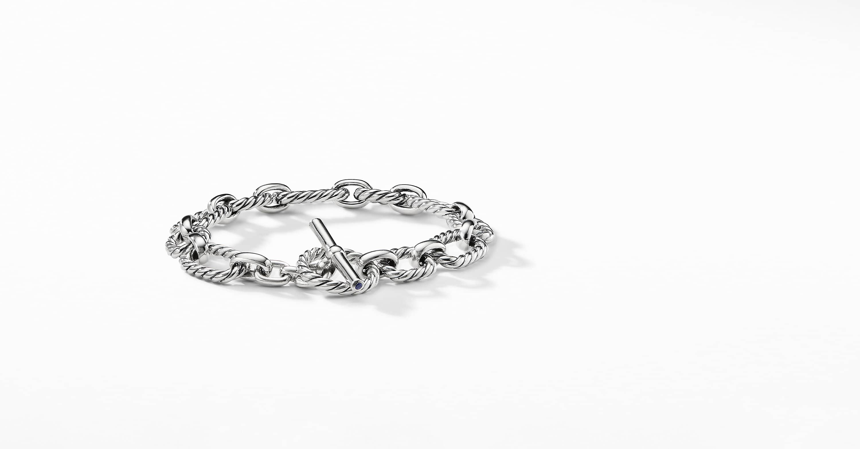 Cushion Link Bracelet, 9.5mm
