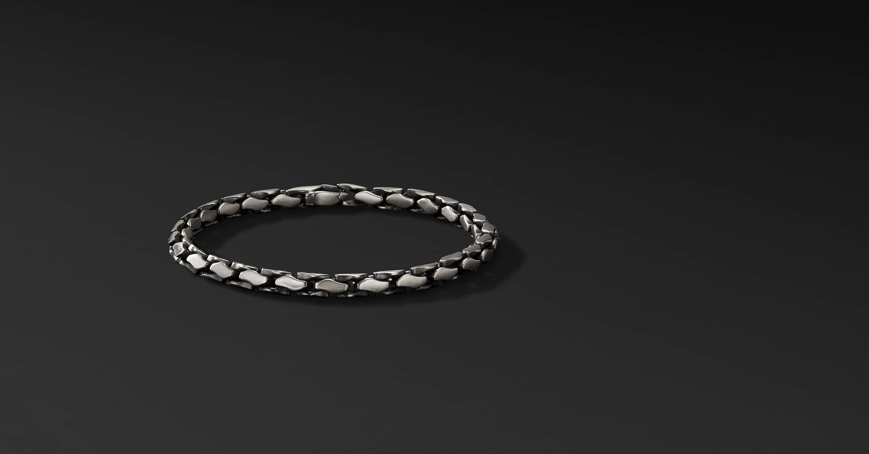 Medium Fluted Chain Bracelet, 5mm