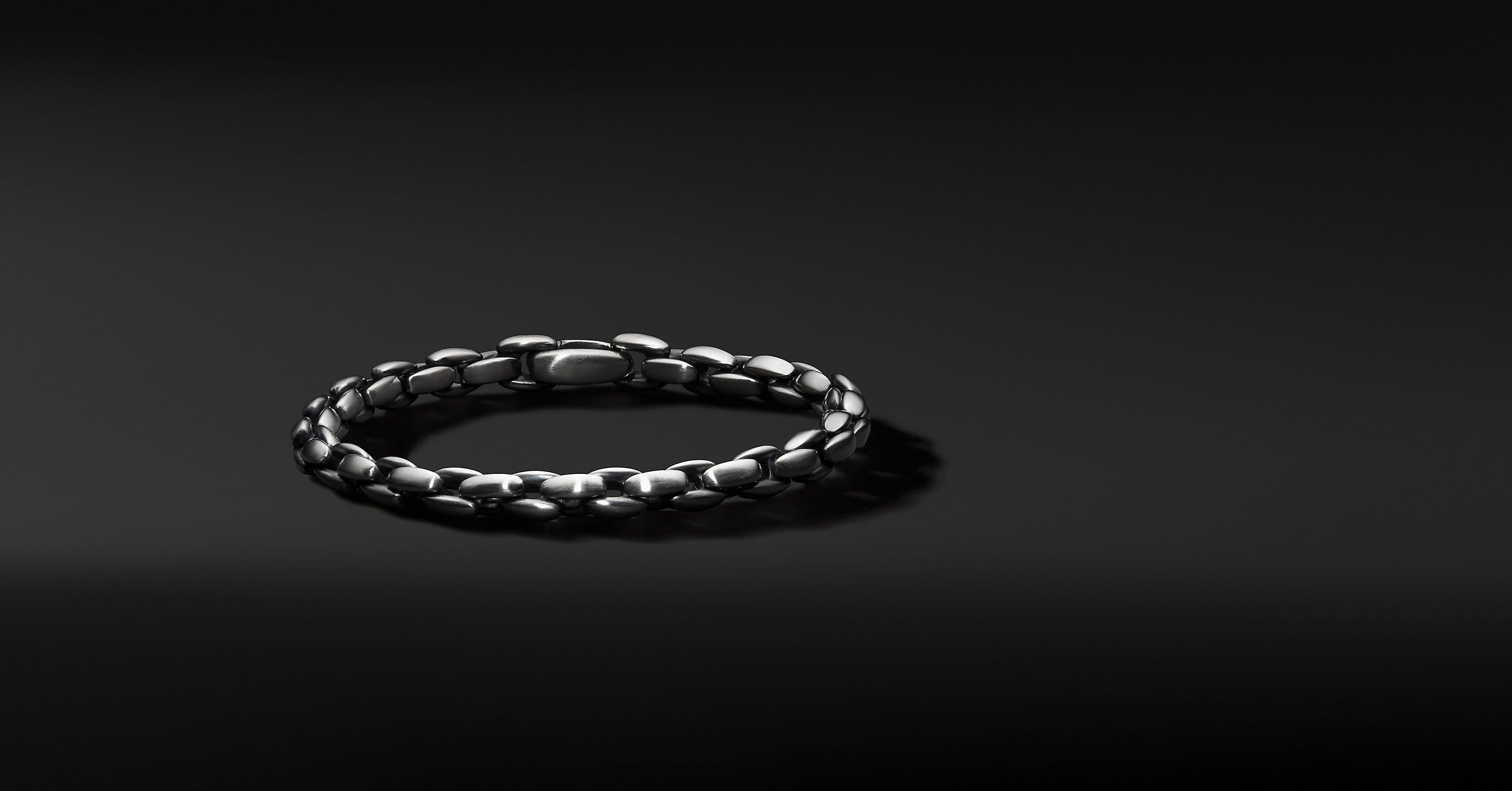 Elongated Box Chain Bracelet, 6mm