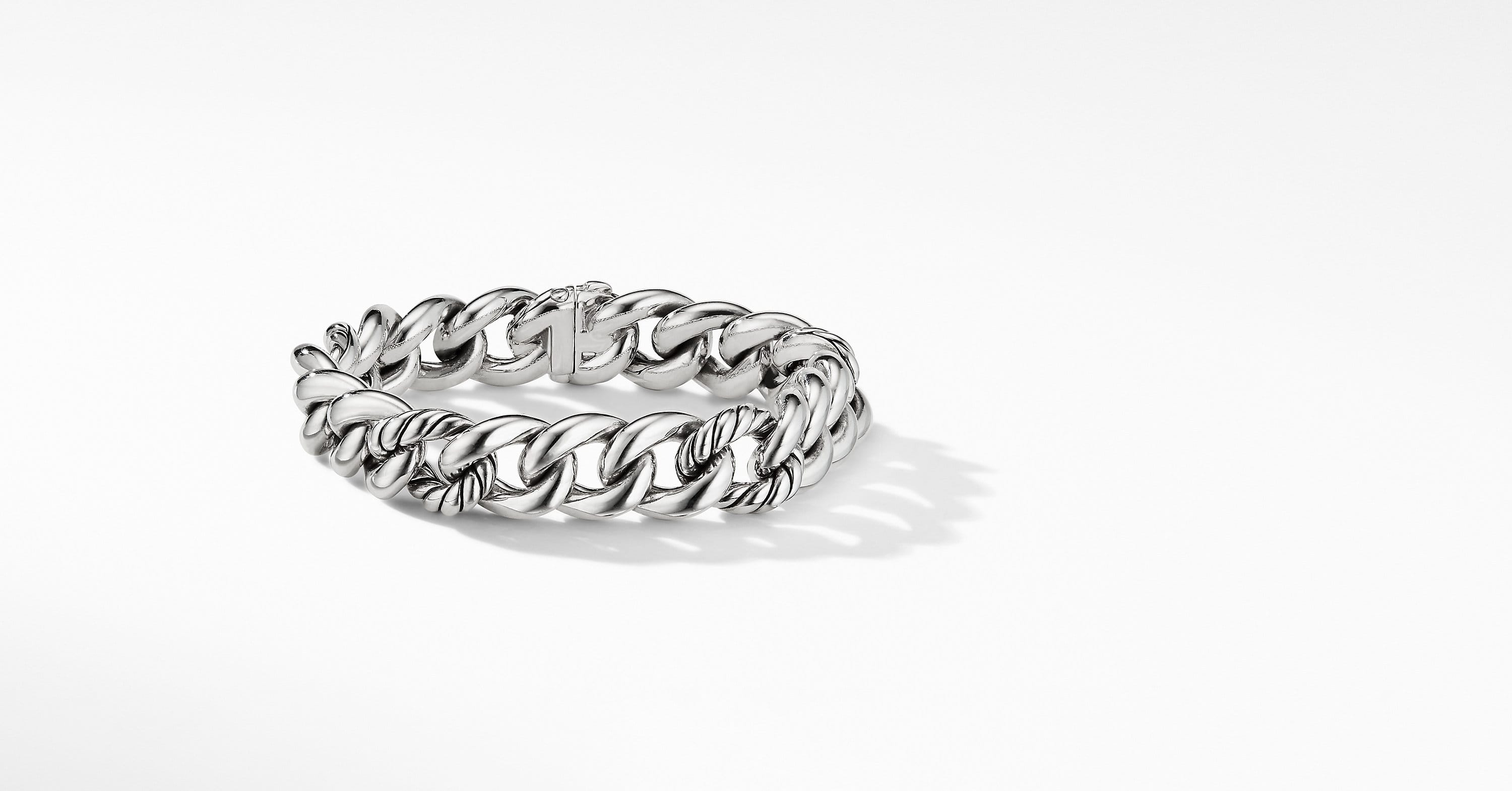 Curb Chain Bracelet, 13.5mm