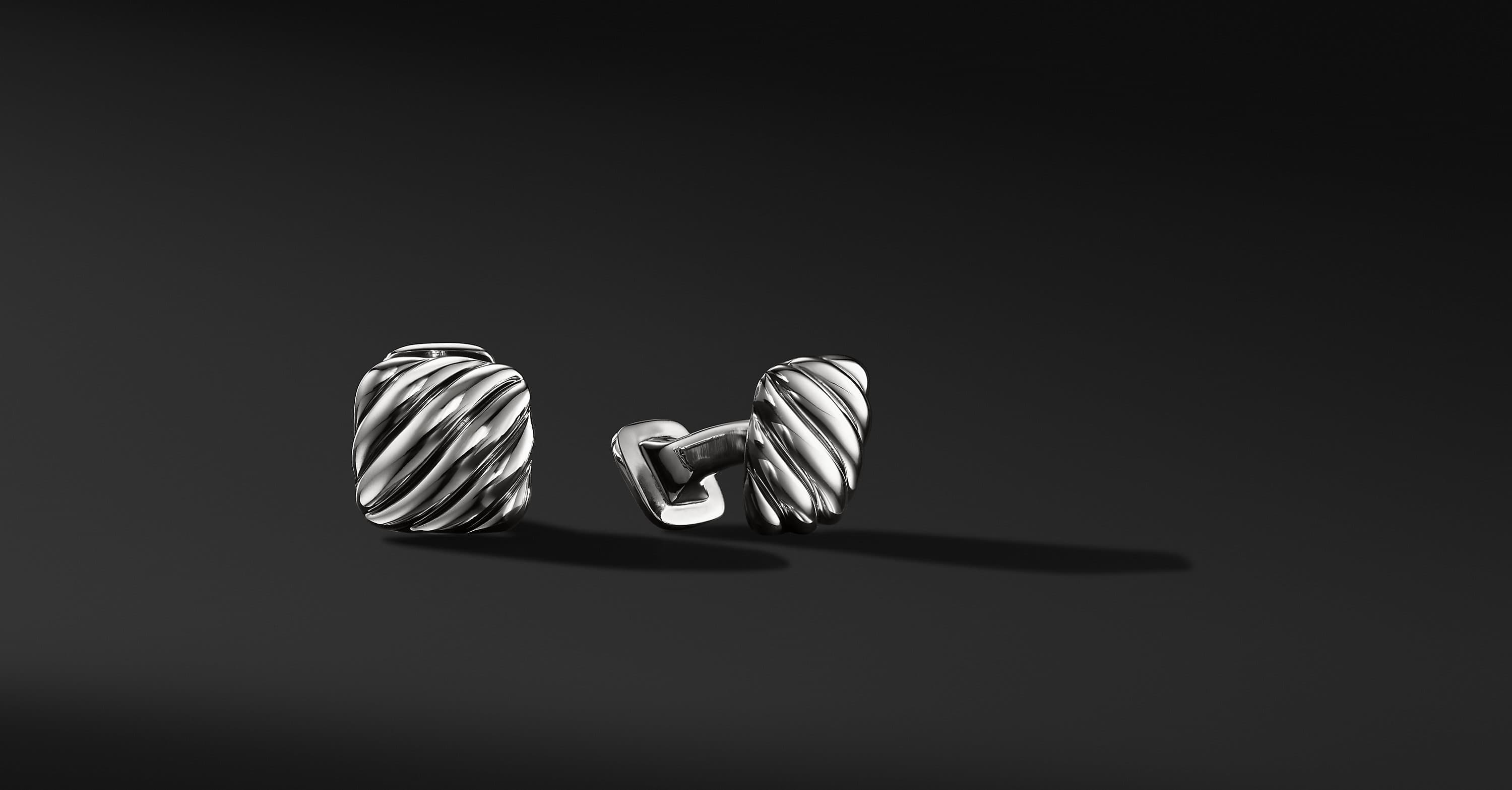 Cable Cushion Cufflinks