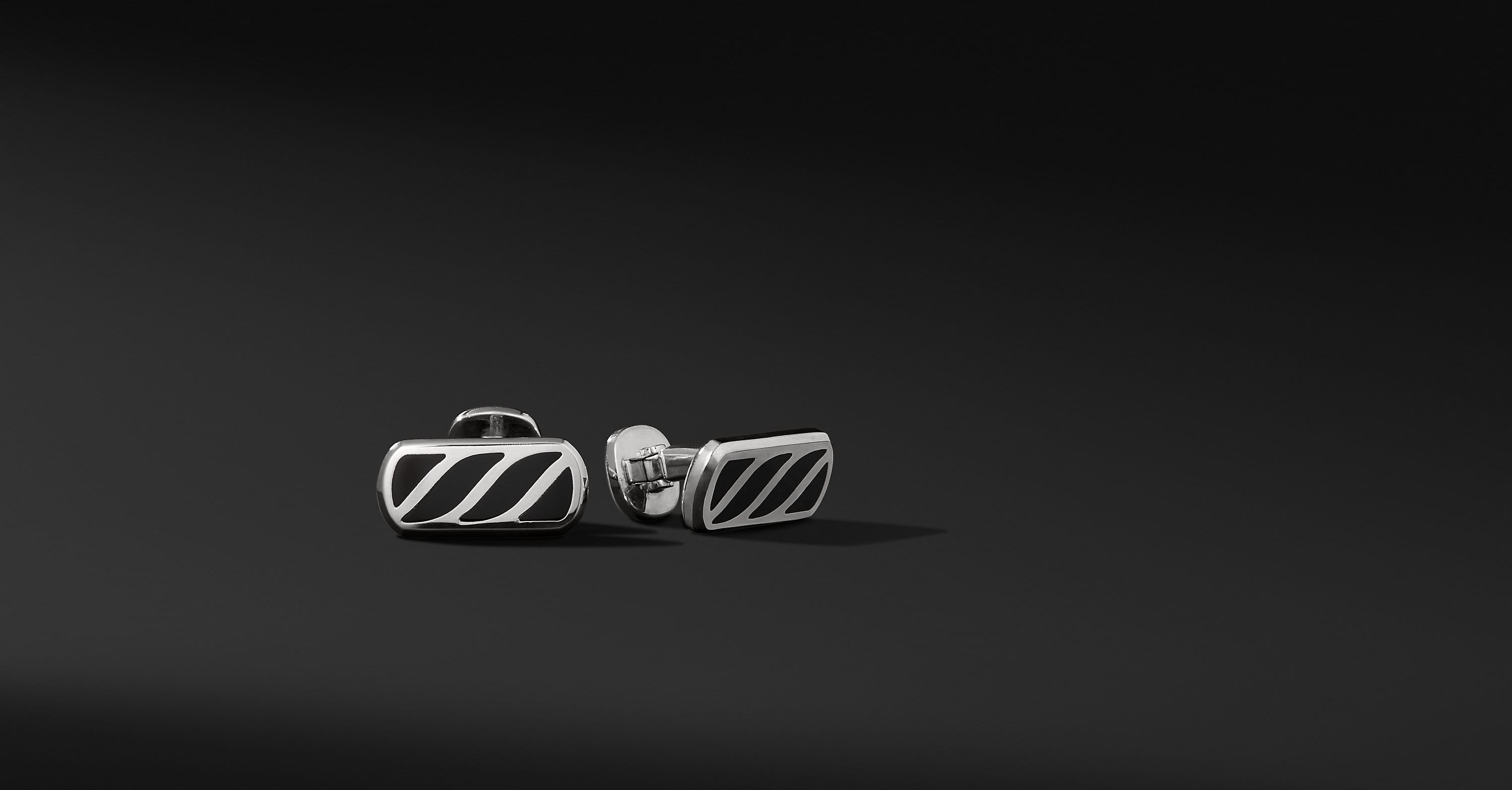 Graphic Cable Cufflinks