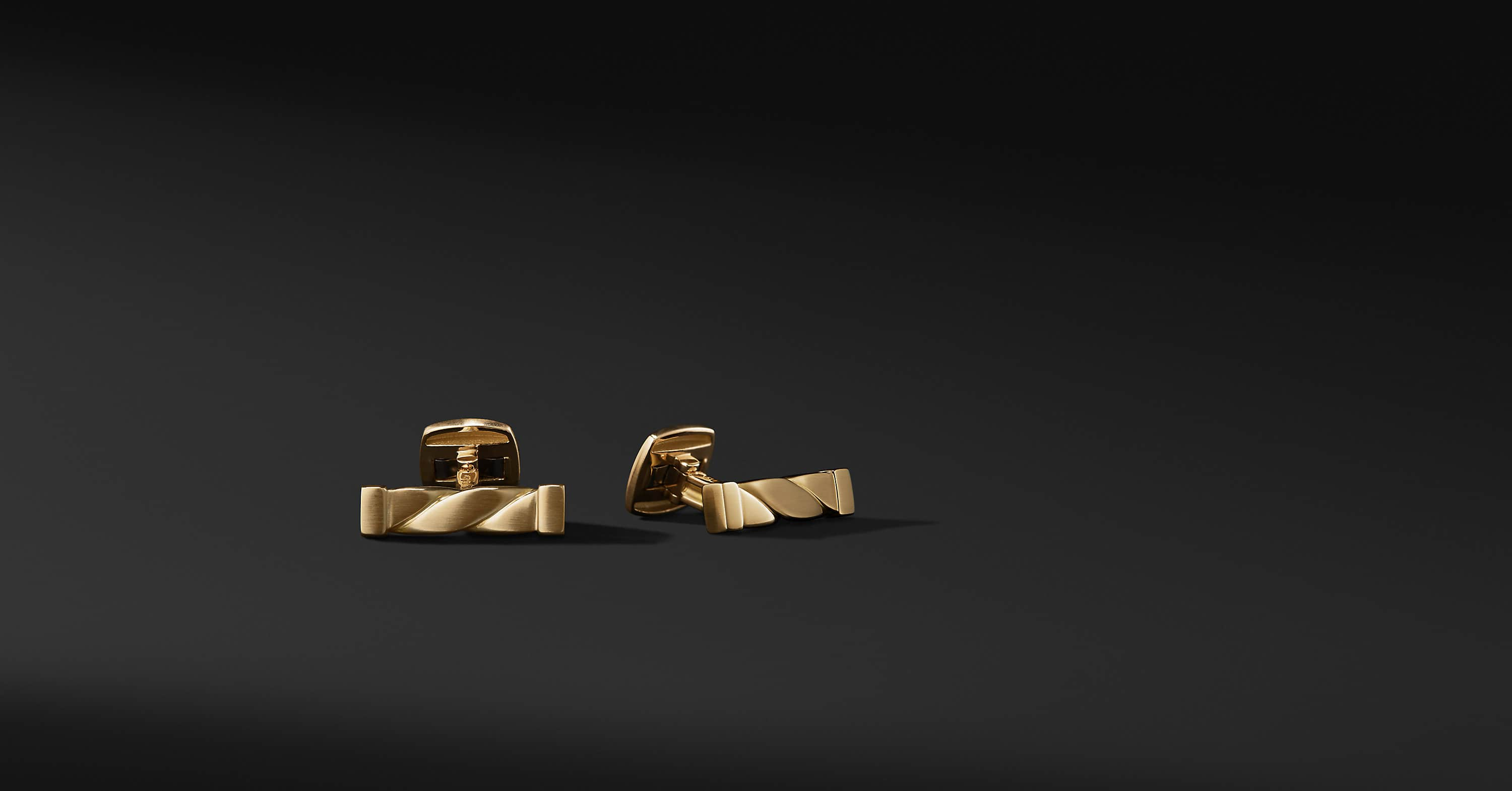 Cable Classics Cufflinks in 18K Gold