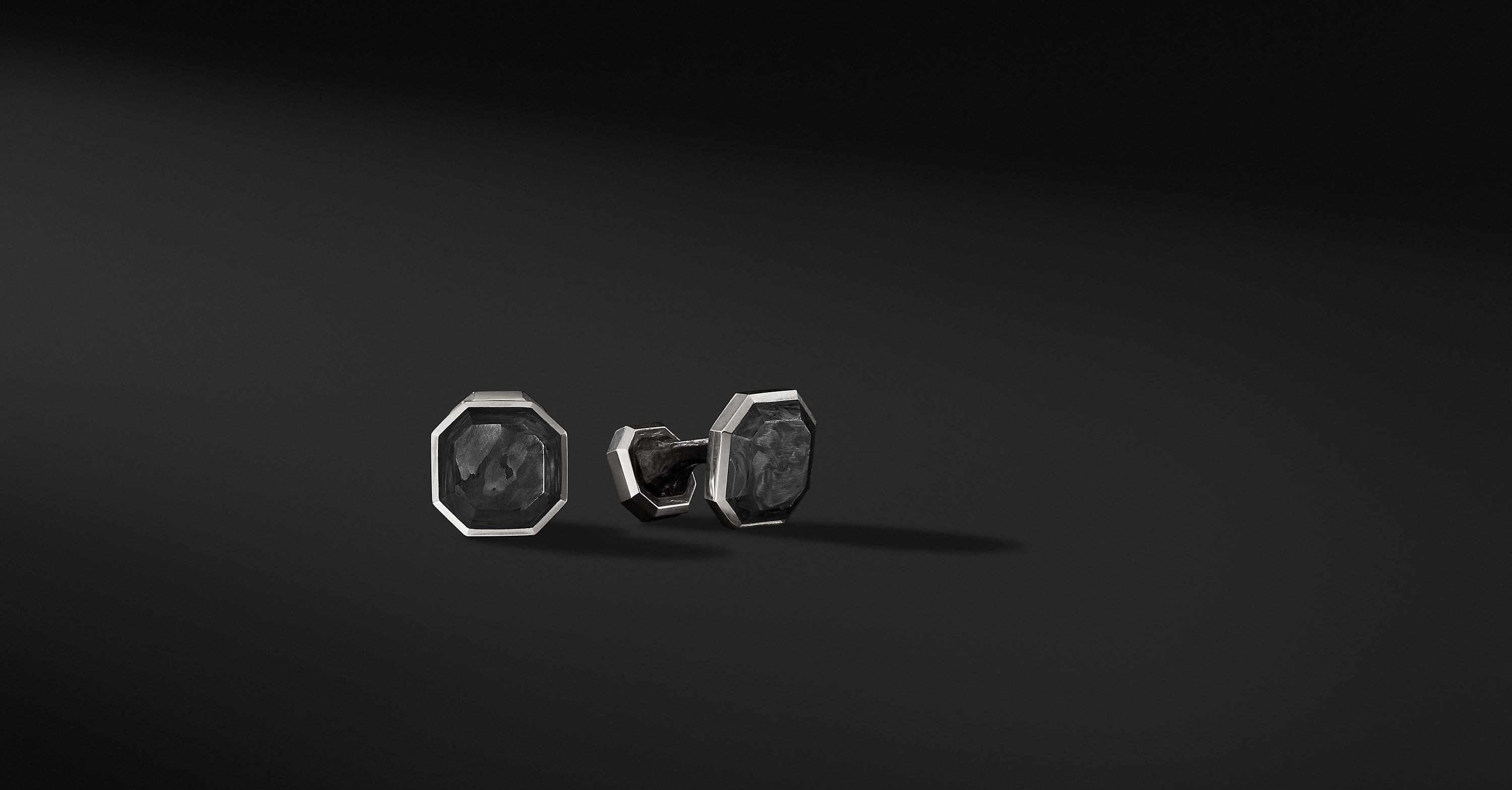Forged Carbon Cufflinks