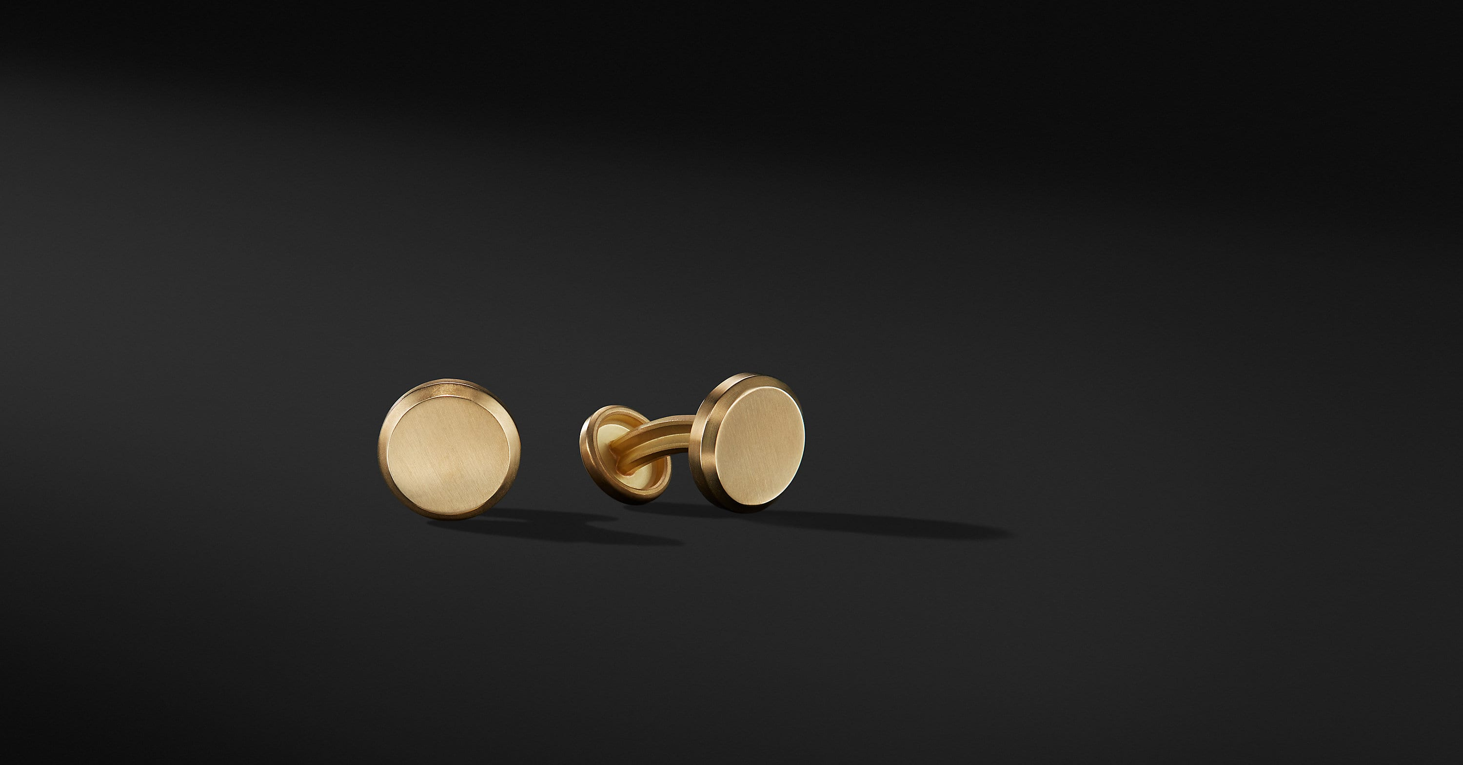 Streamline Cufflinks in 18K Gold