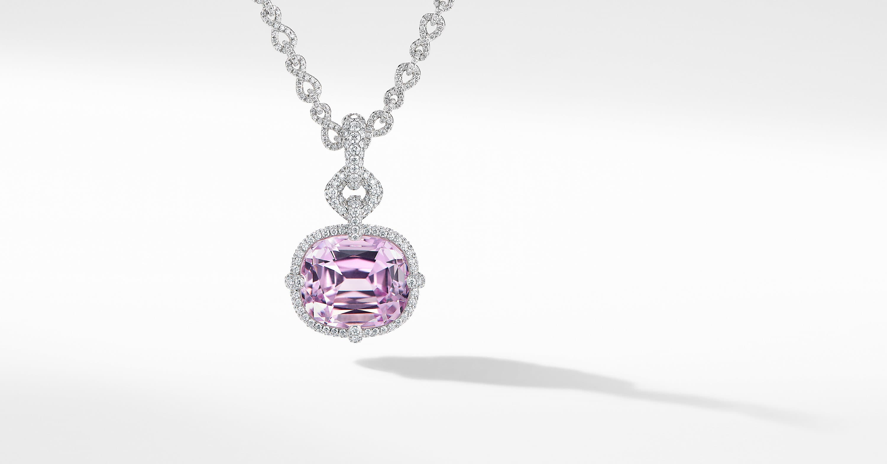 Gems Enhancer in White Gold with Diamonds