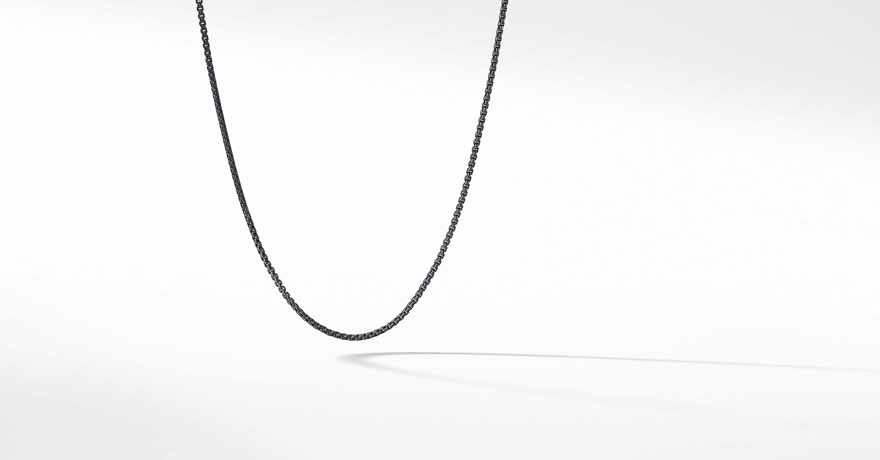 Baby Box Chain Necklace, 1.7mm