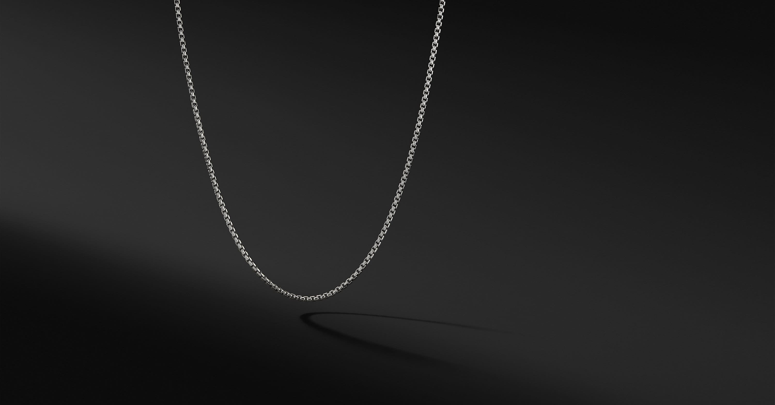 Box Chain Necklace, 1.7mm