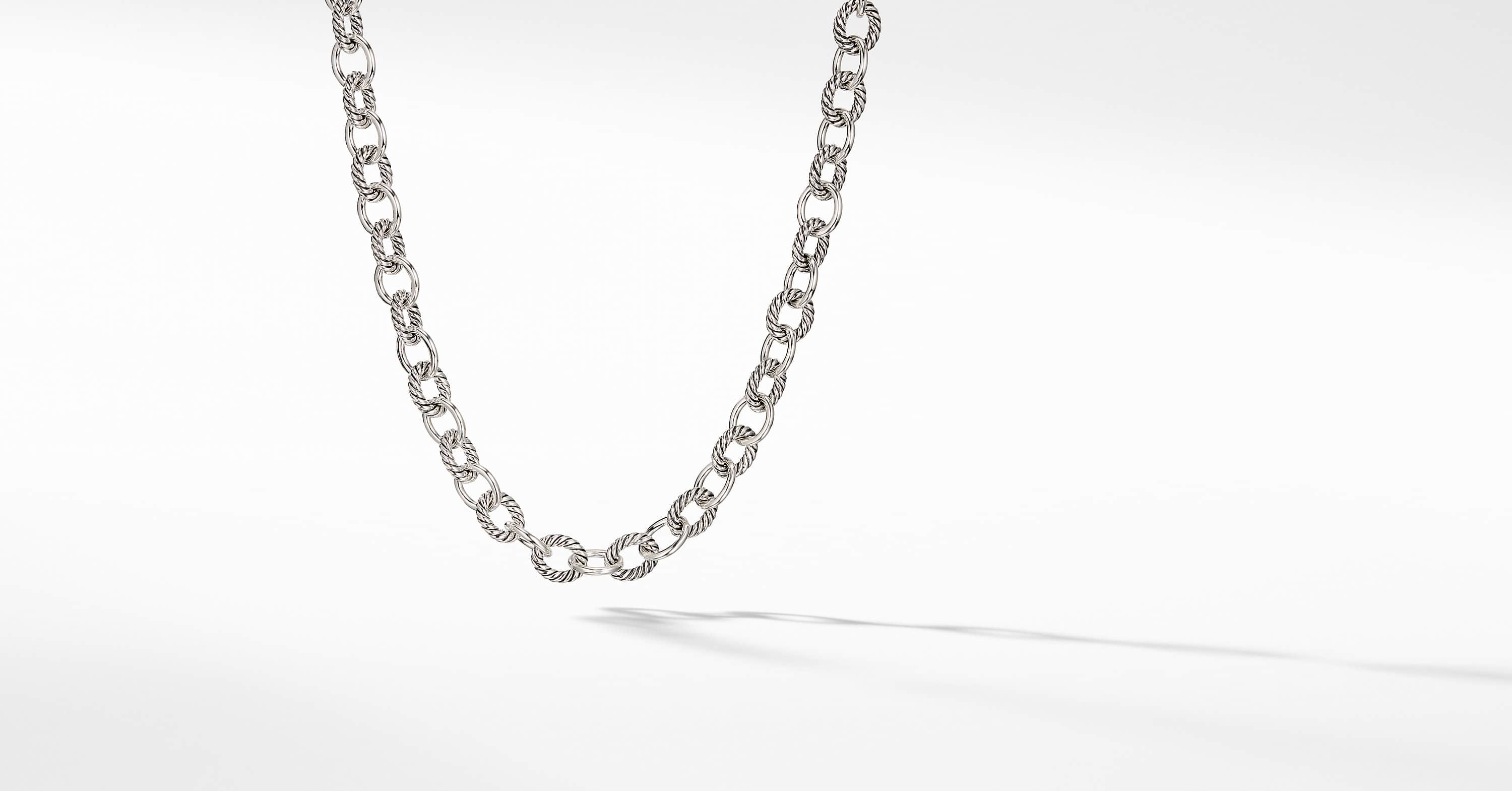Medium Oval Link Necklace
