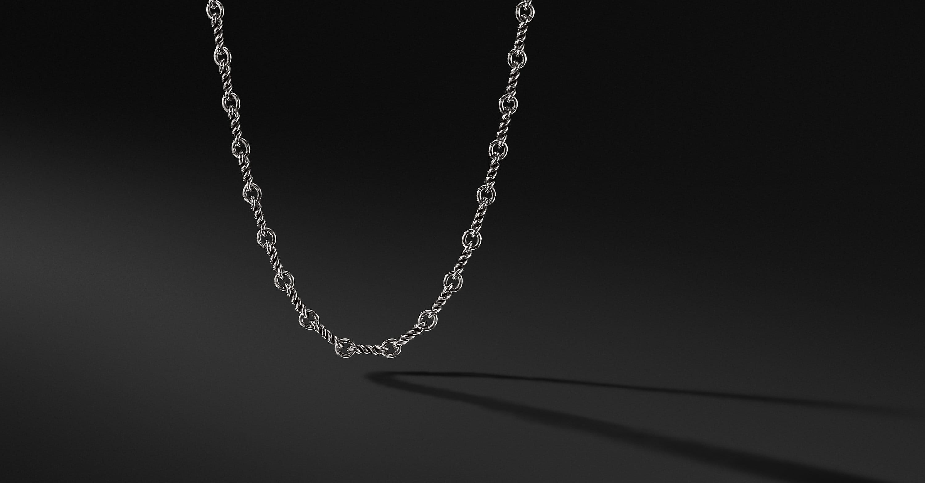 Continuance Cable Twist Chain Necklace