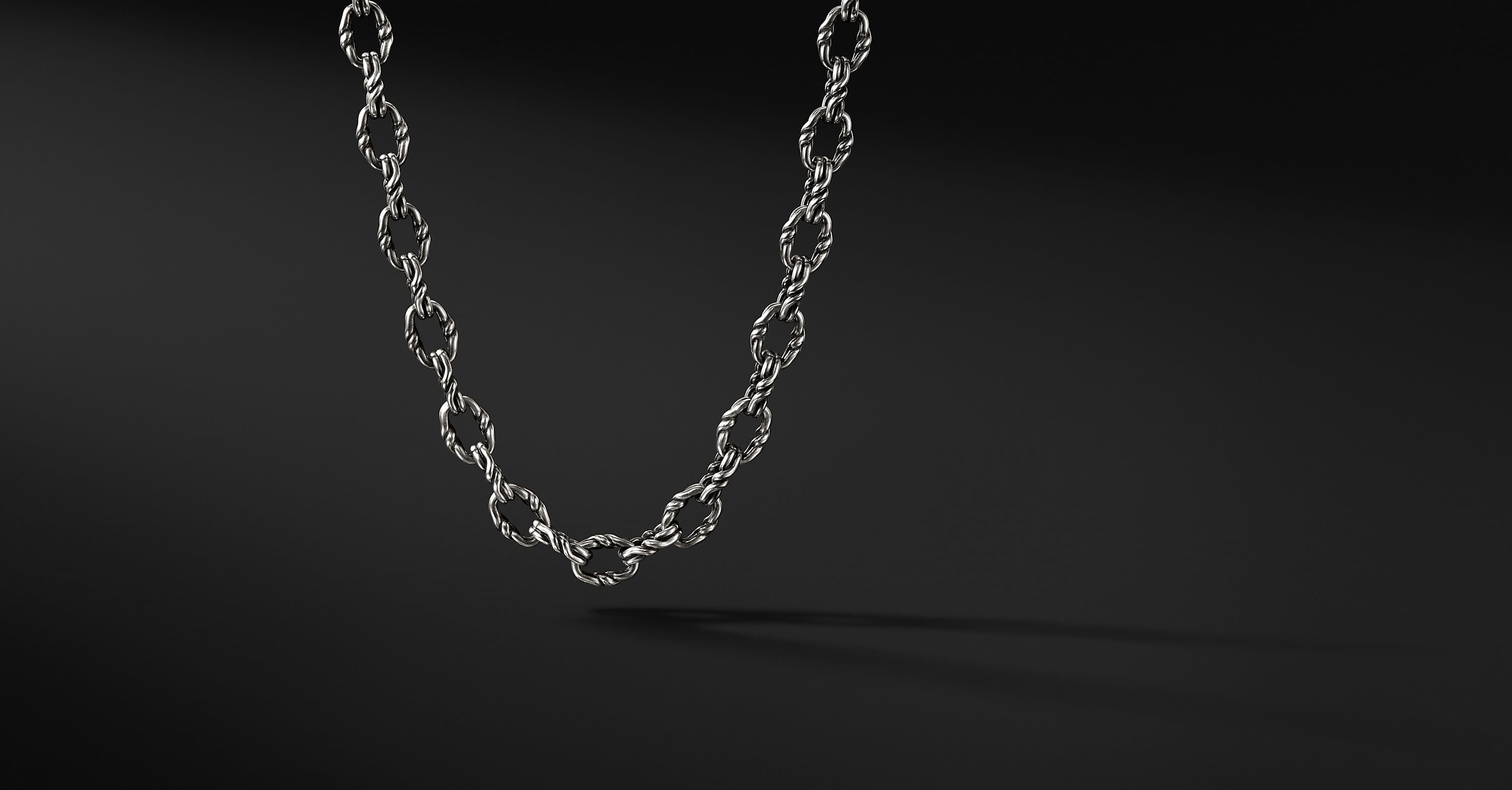Continuance Small Twisted Cable Chain Necklace
