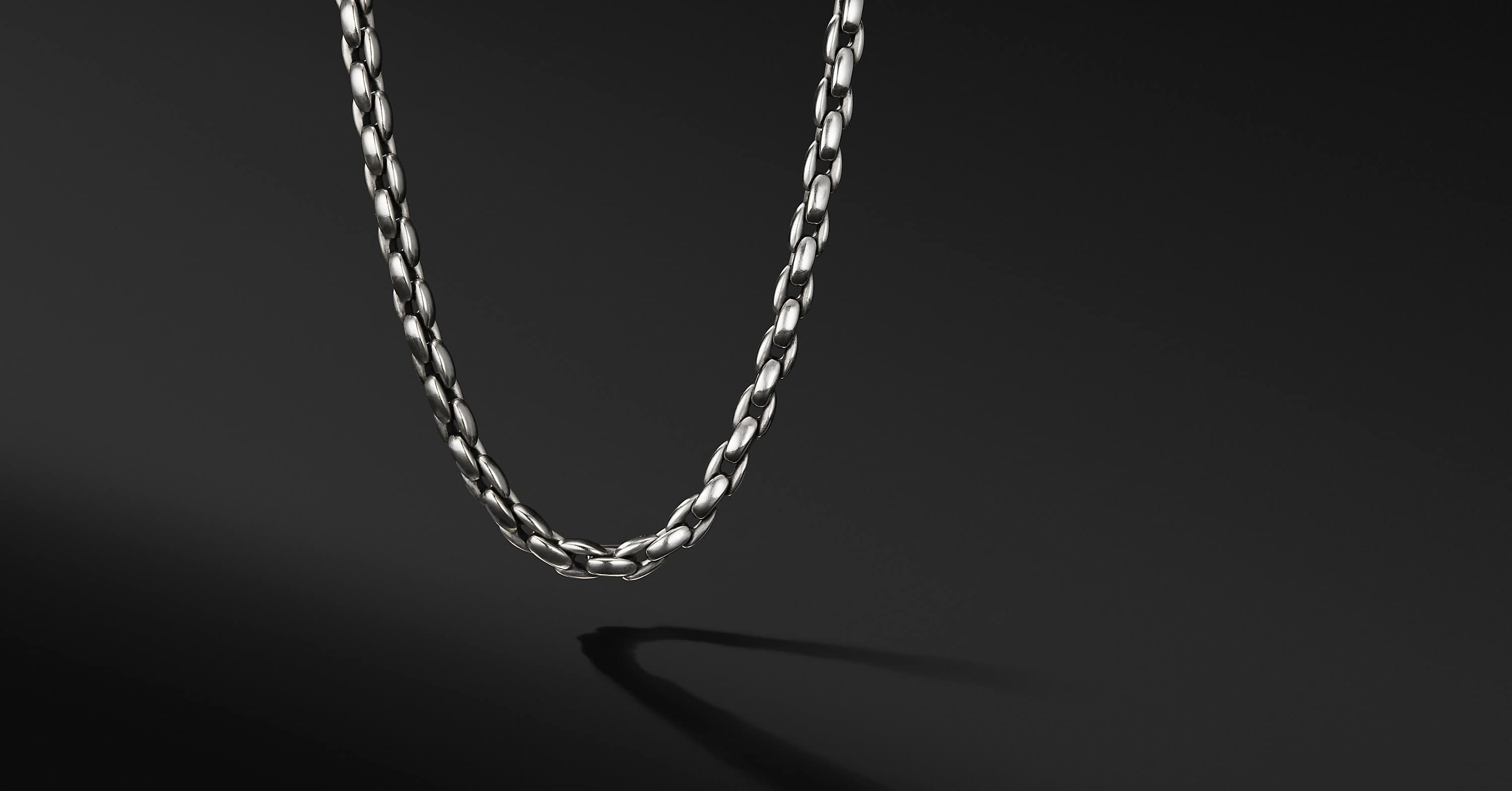 Elongated Box Chain Necklace
