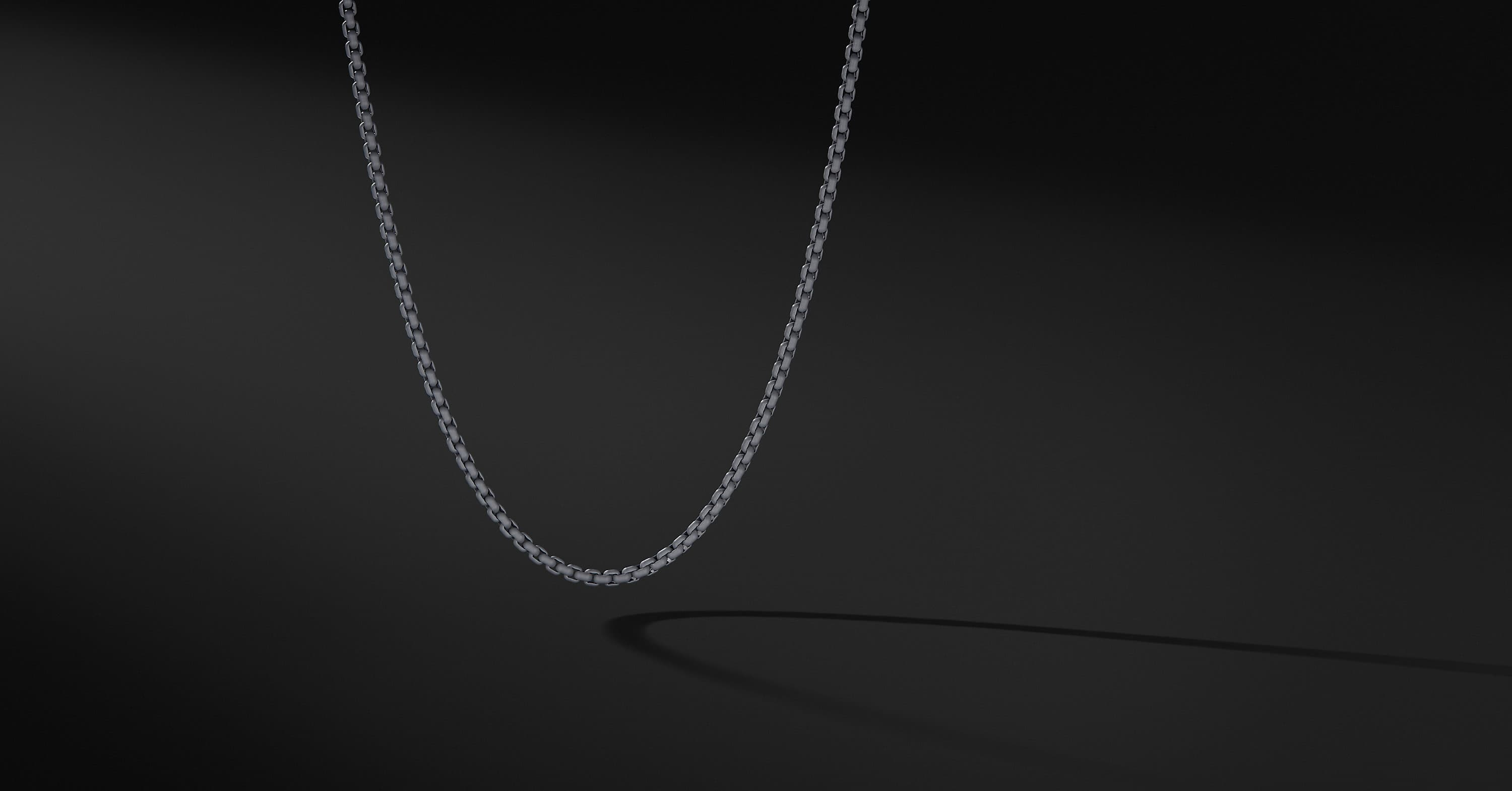 Box Chain Necklace, 4mm