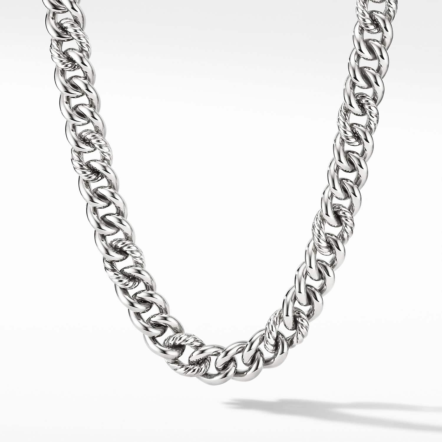 Curb Chain Necklace 13 5mm