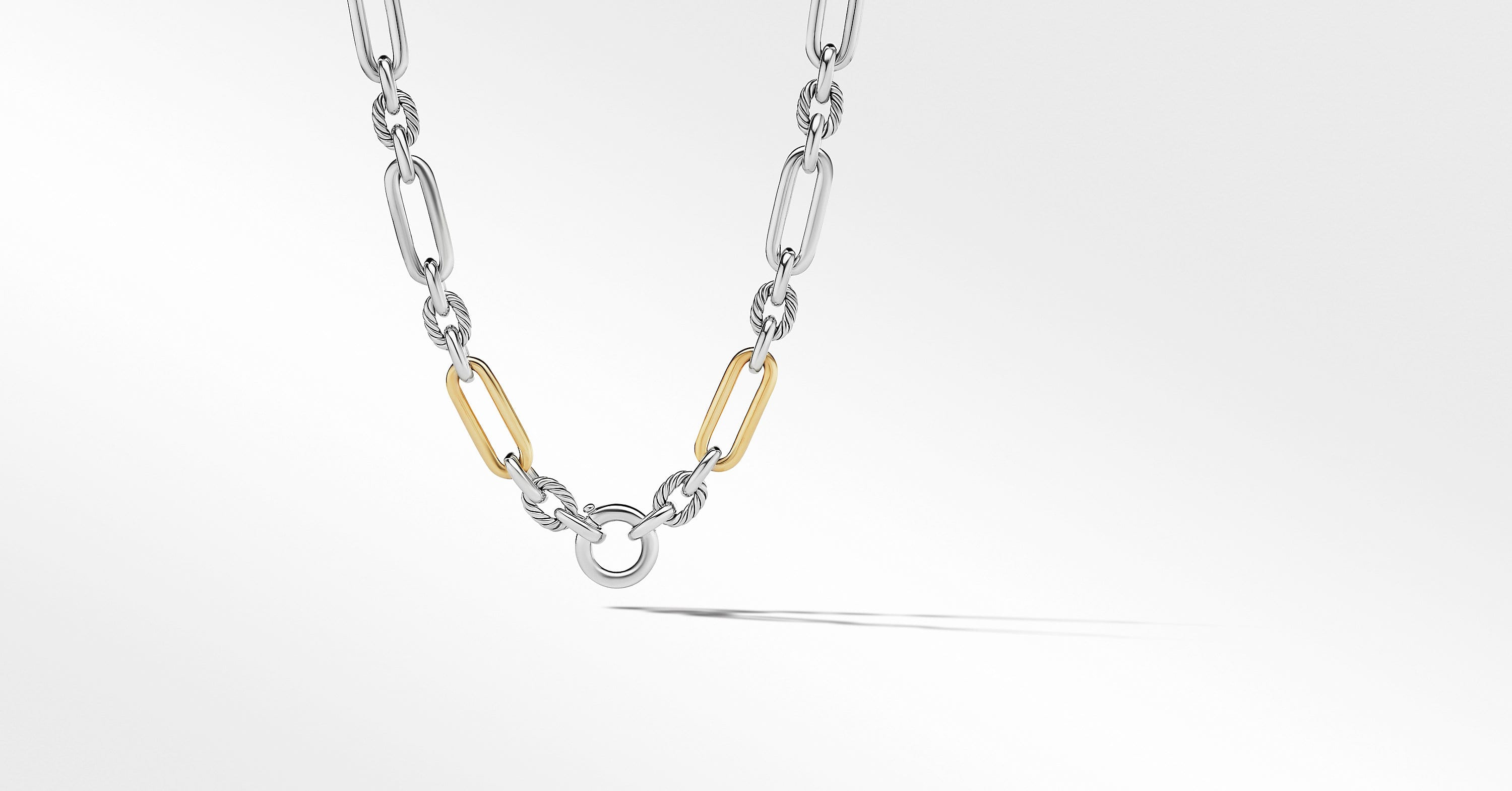 Lexington Chain with 18K Yellow Gold, 9.8mm
