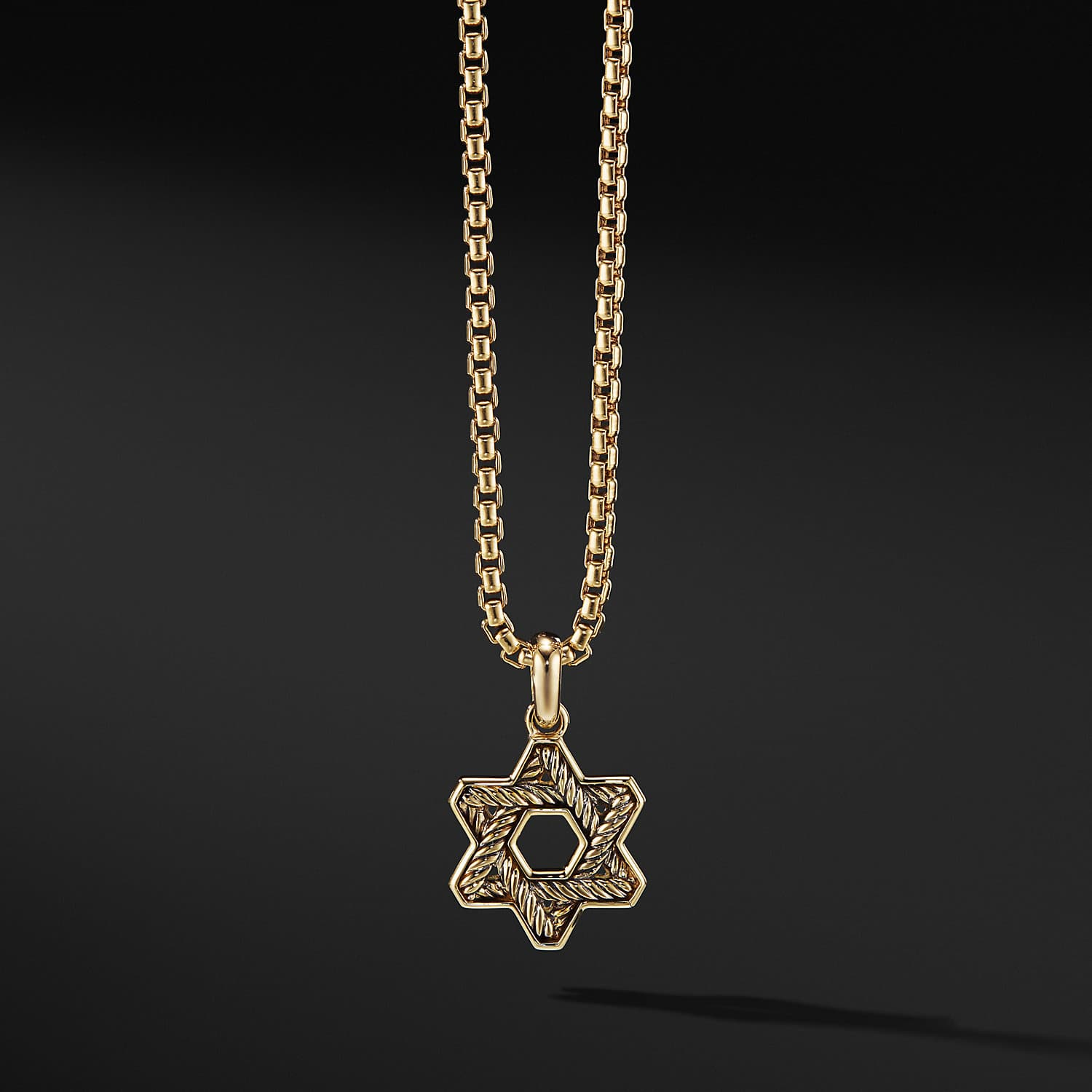 9248cc05e199 Star of David in 18K Gold