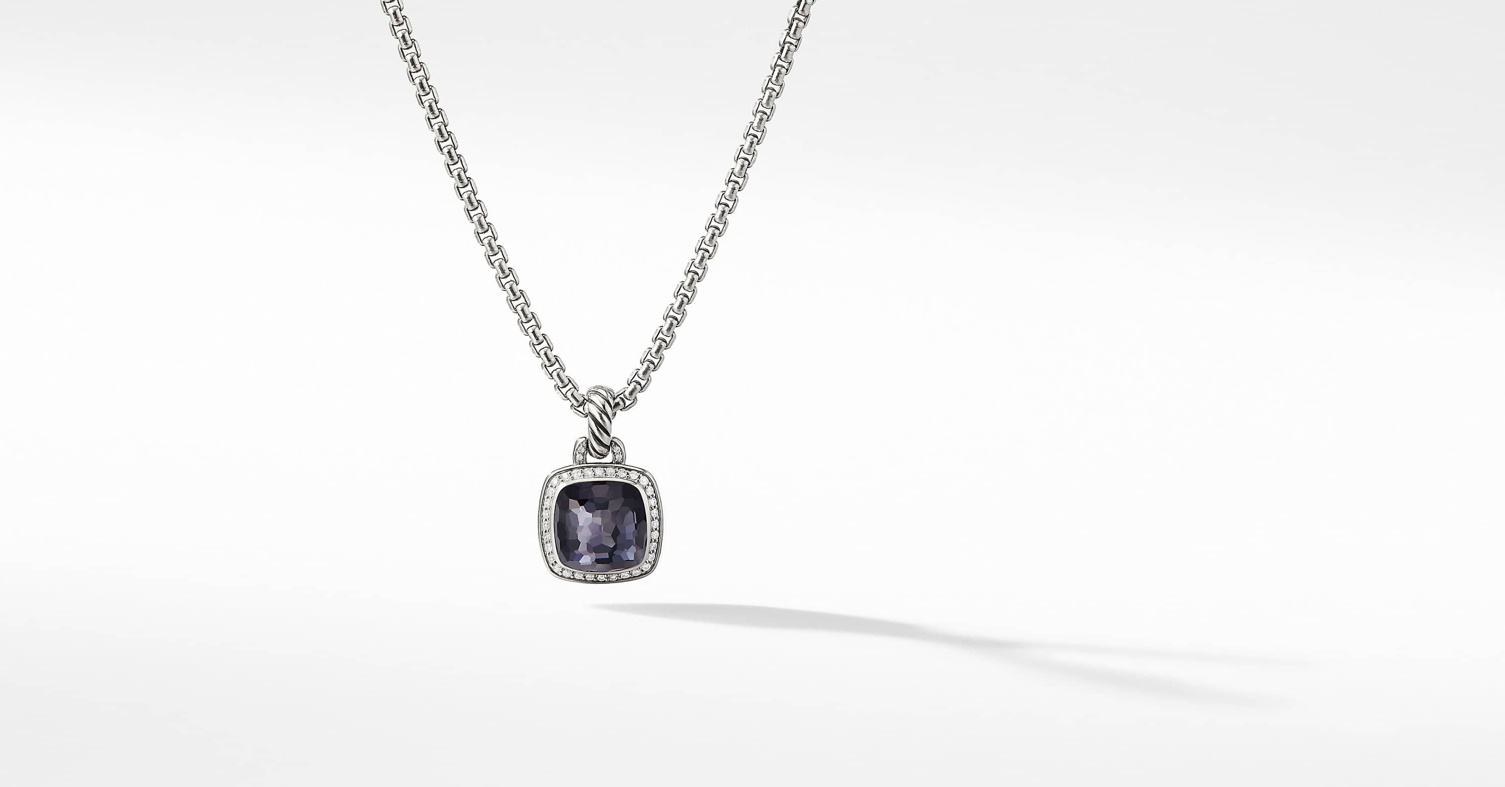 Albion Pendant with Diamonds, 11mm