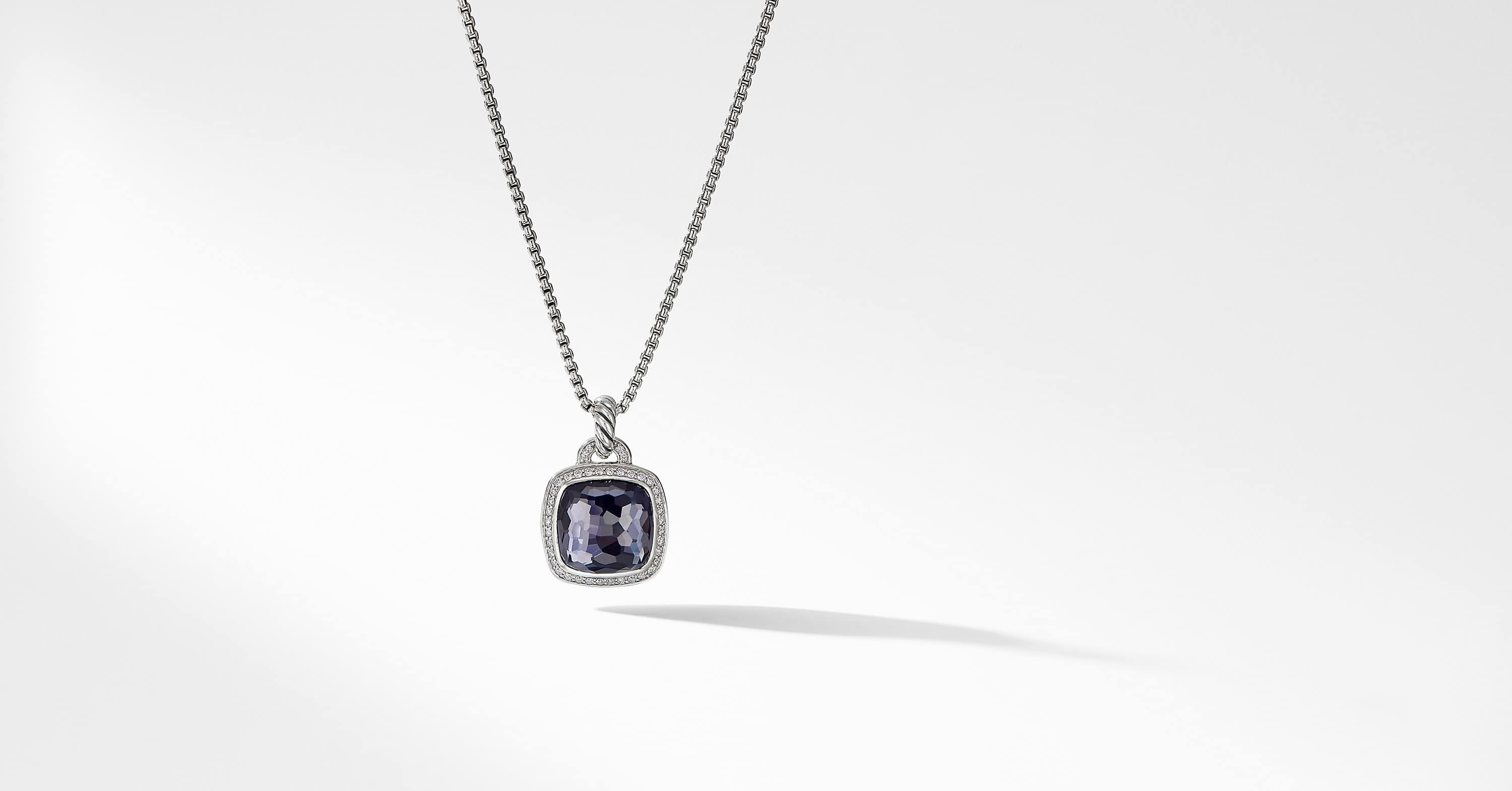 Albion Pendant with Diamonds, 14mm