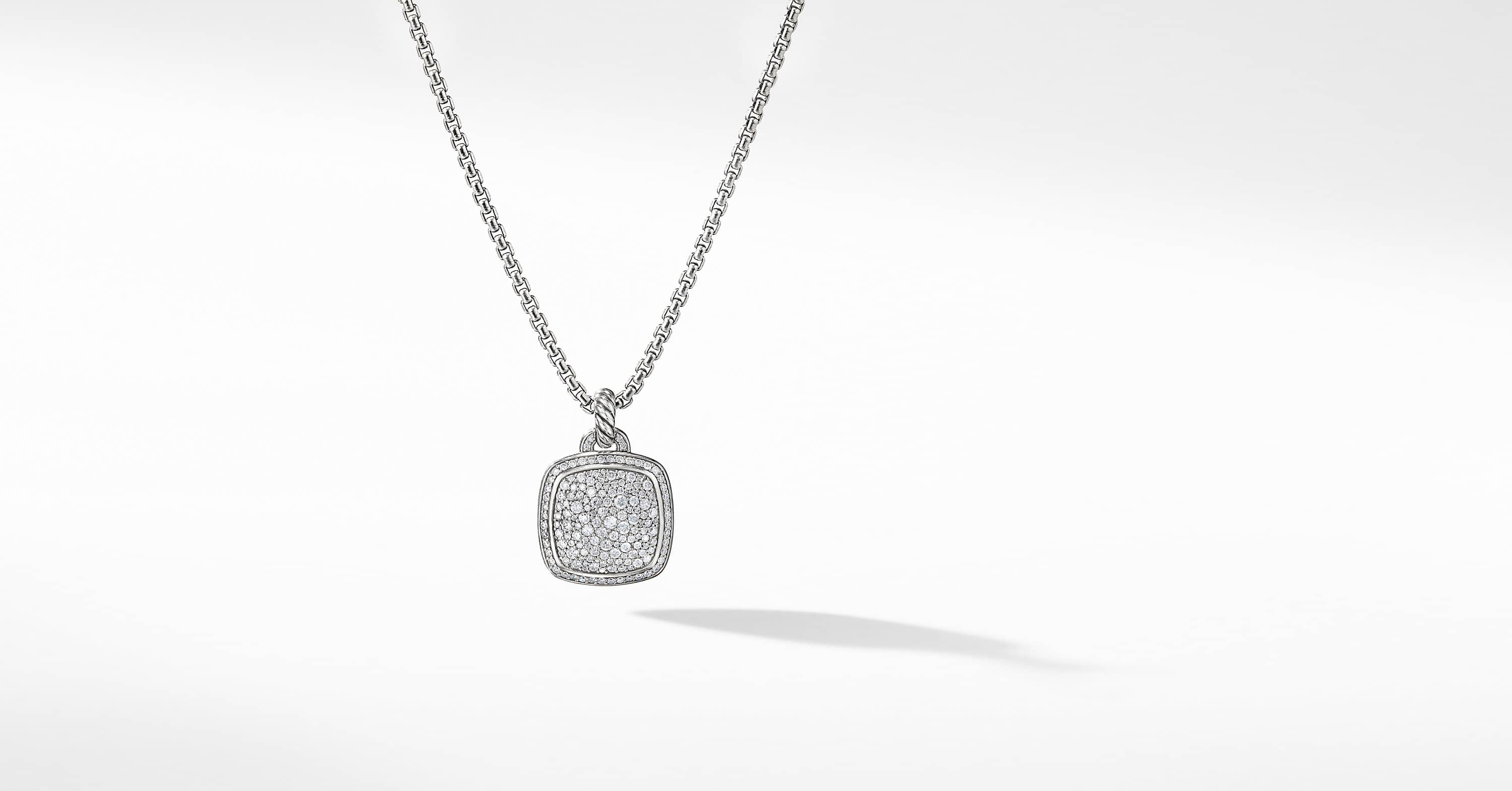 Albion Pendant with Diamonds, 17mm