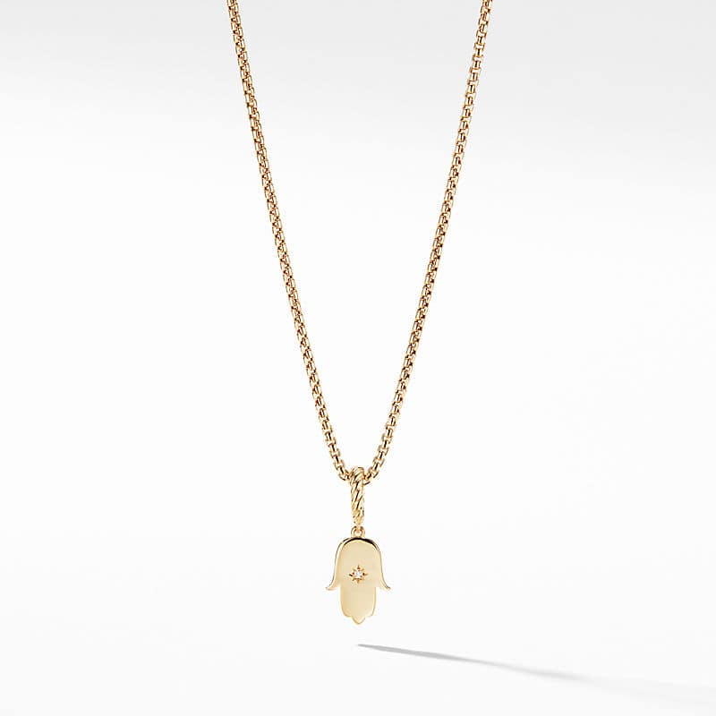 Cable Collectibles Hamsa Amulet in 18k Gold with