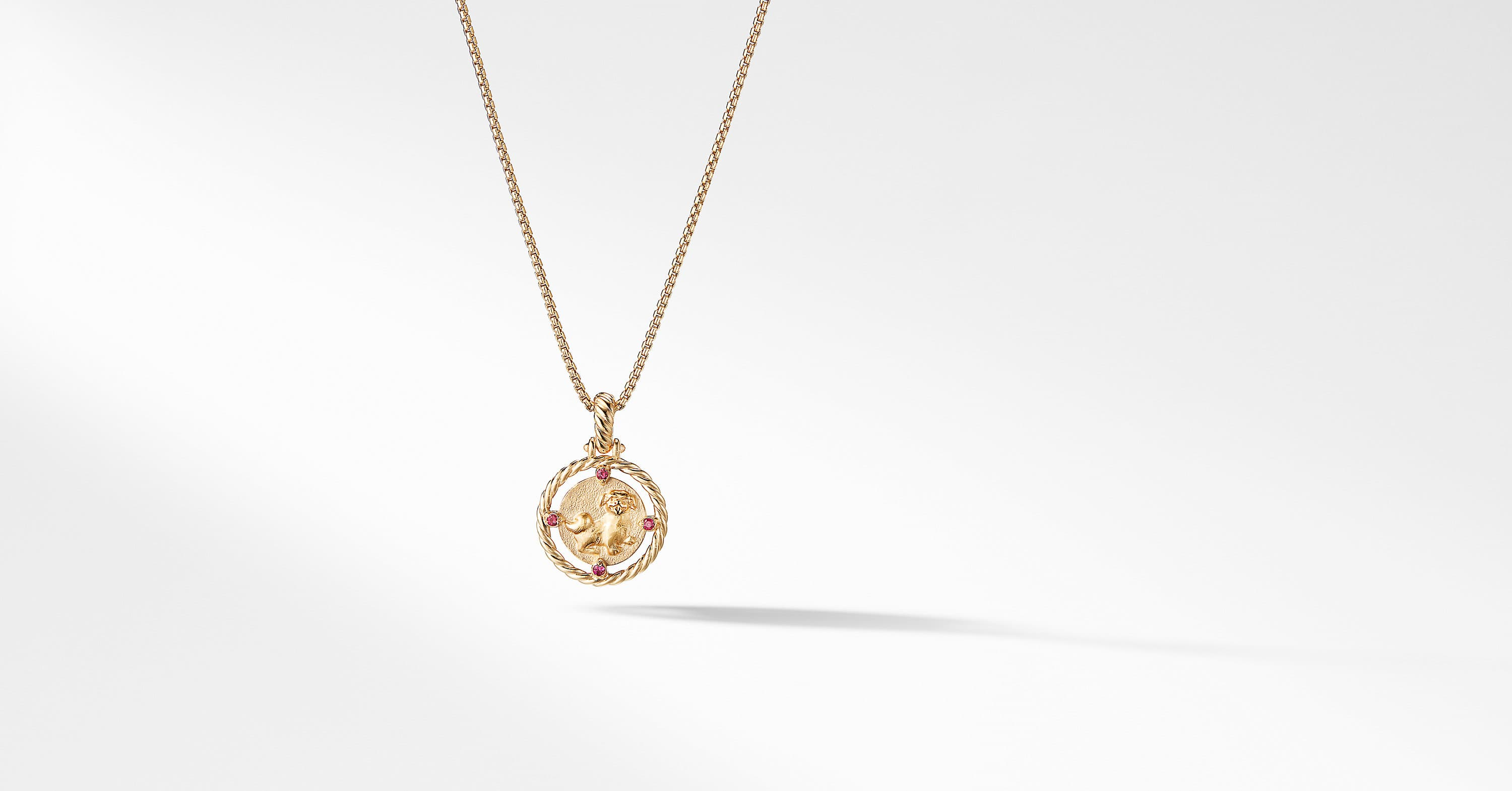 Lunar New Year Charm in 18K Gold