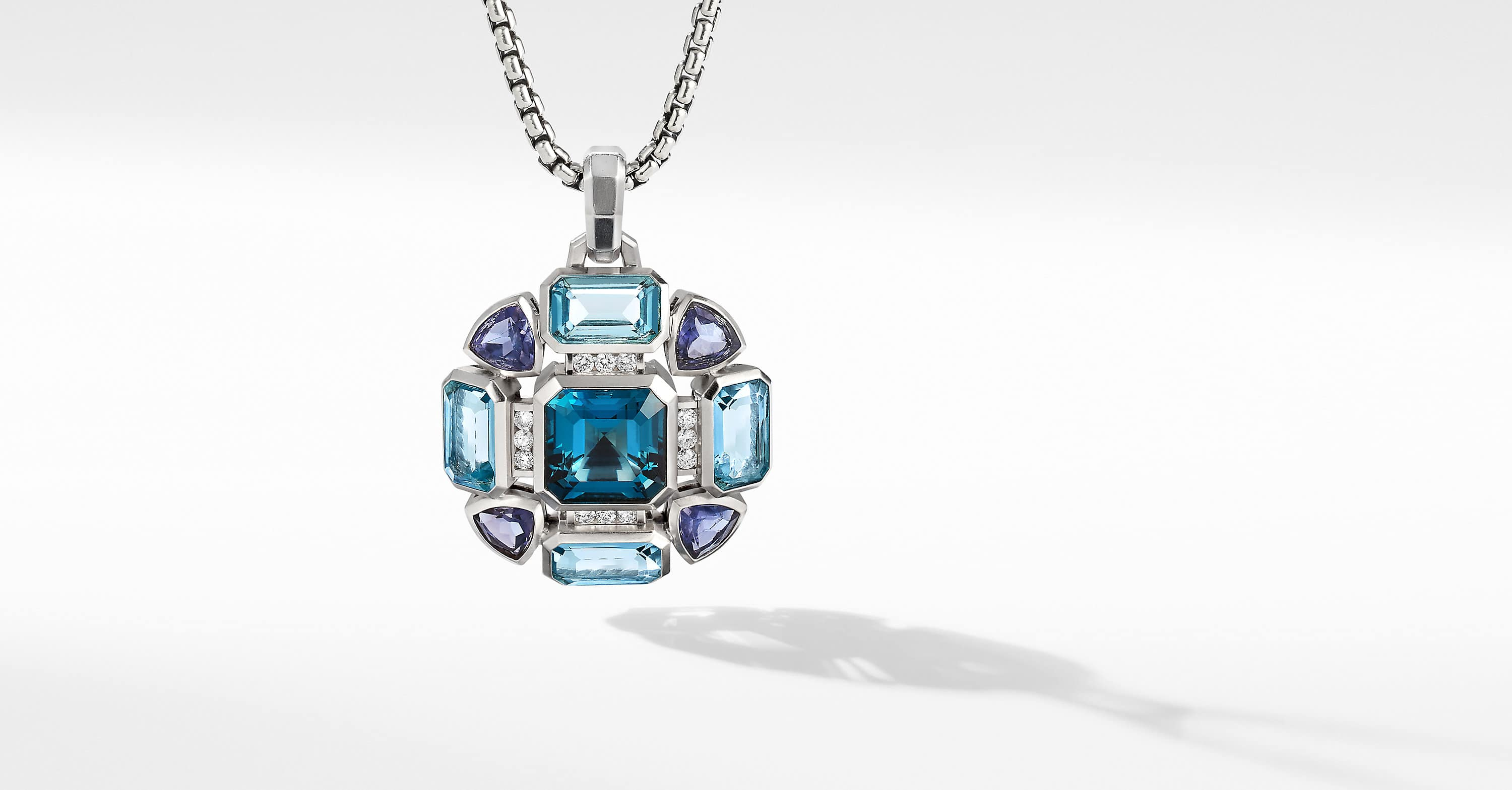 Novella Statement Pendant with Pavé