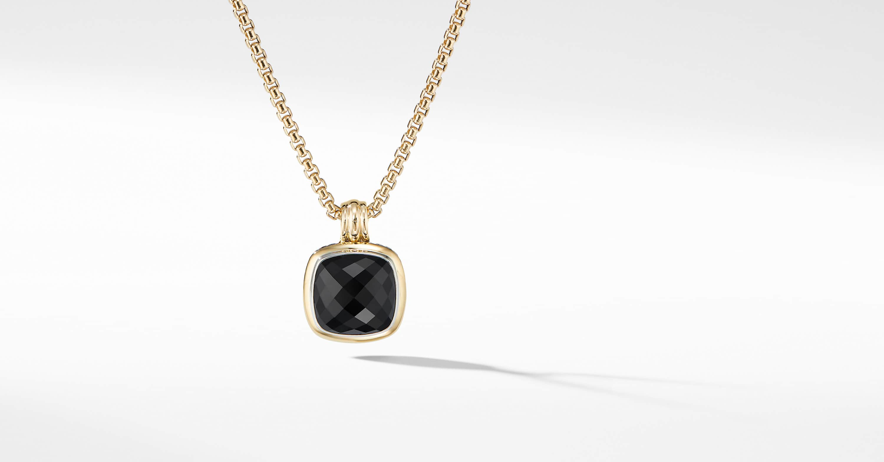 Albion Pendant with 18K Yellow Gold, 14mm