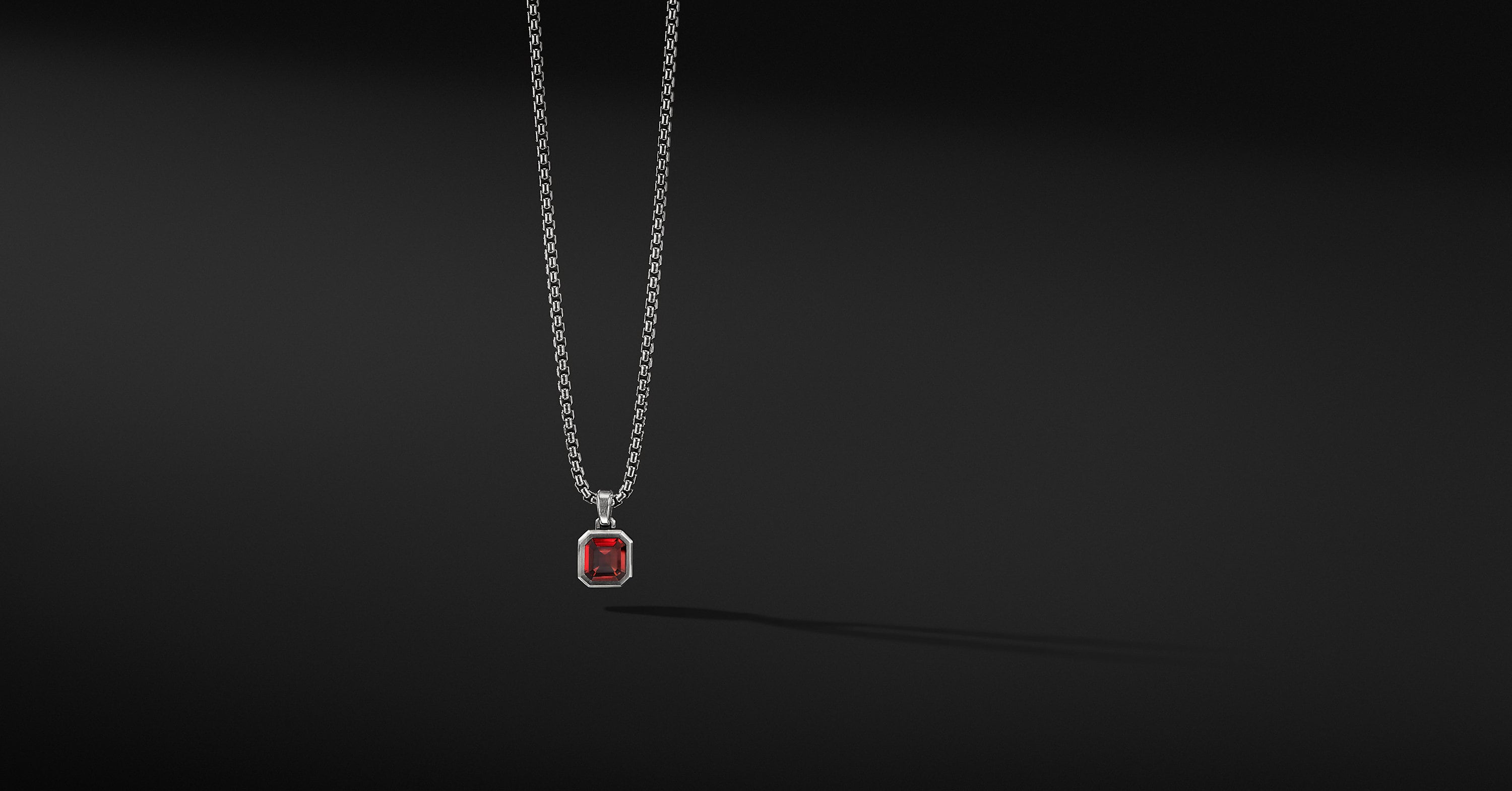 Emerald Cut Amulet