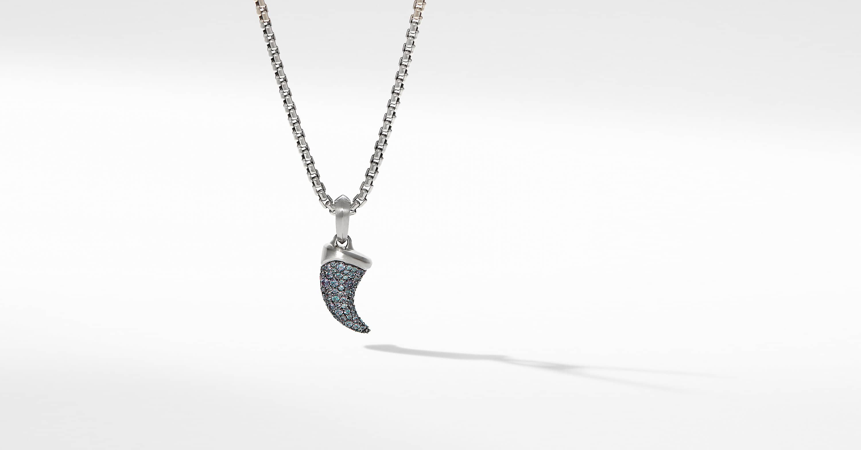 Petrvs Claw Amulet in 18K White Gold