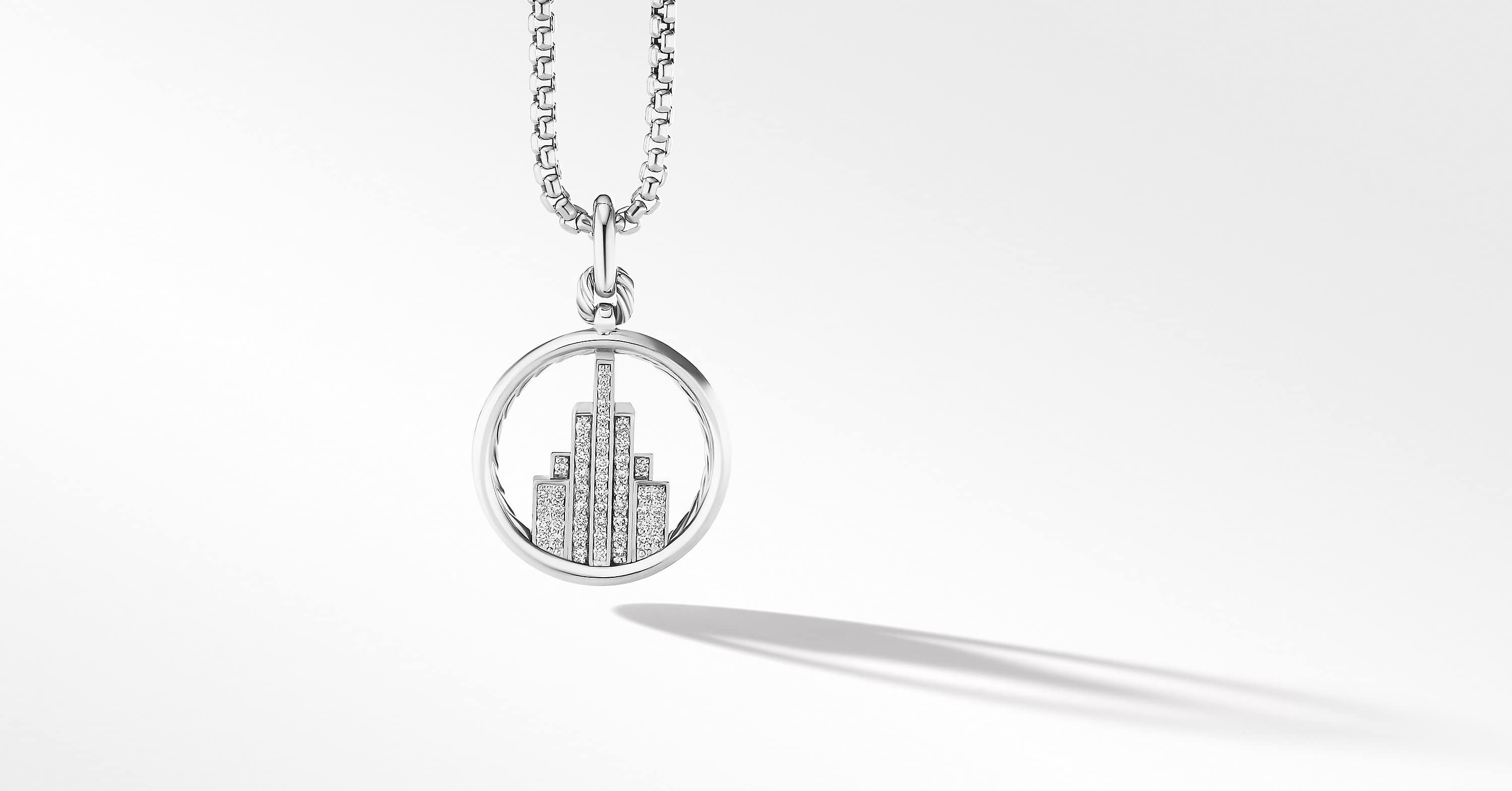 Empire Amulet with Diamonds, 38.8mm