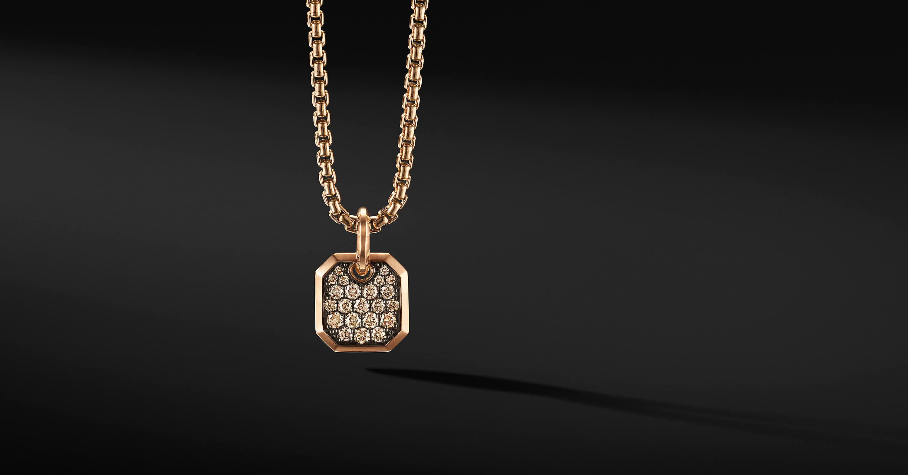 Roman Amulet in 18K Rose Gold