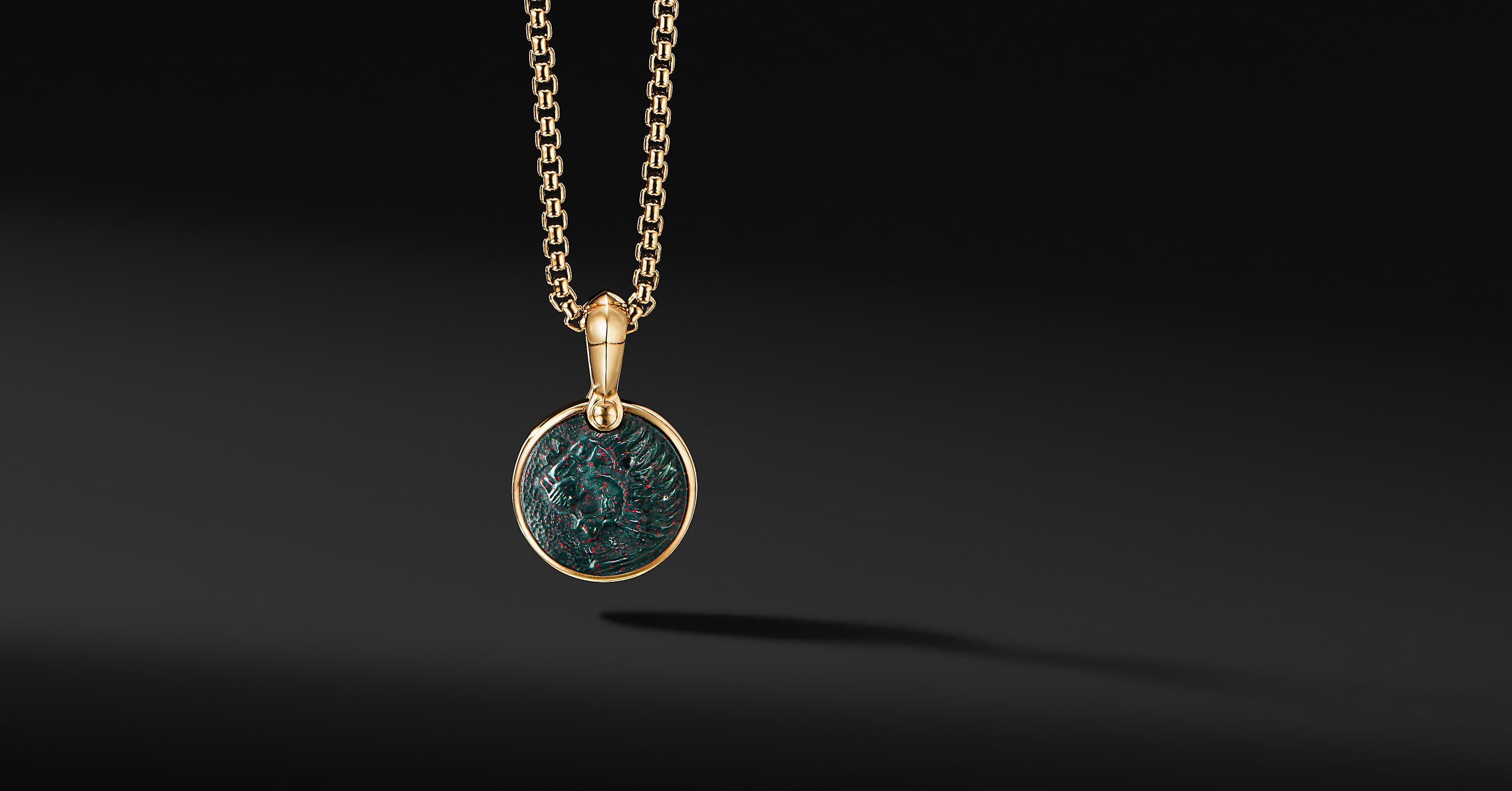 Petrvs Lion Amulet in 18K Yellow Gold