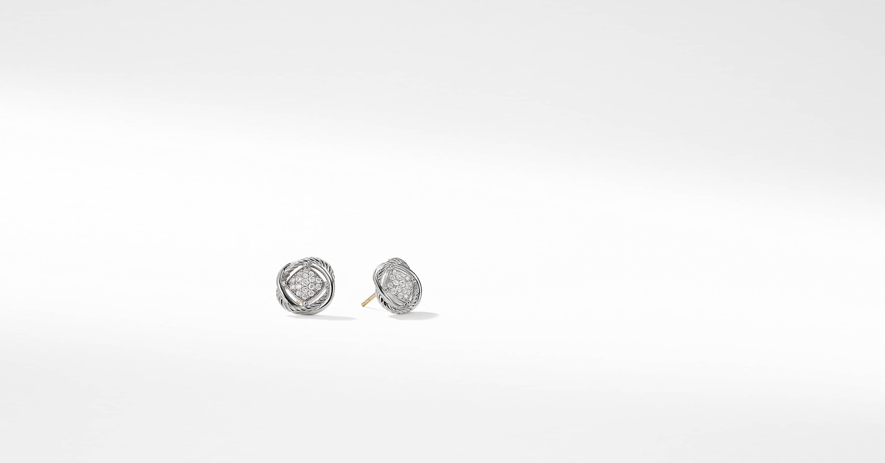 Boucles d'oreilles avec diamants The Crossover Collection